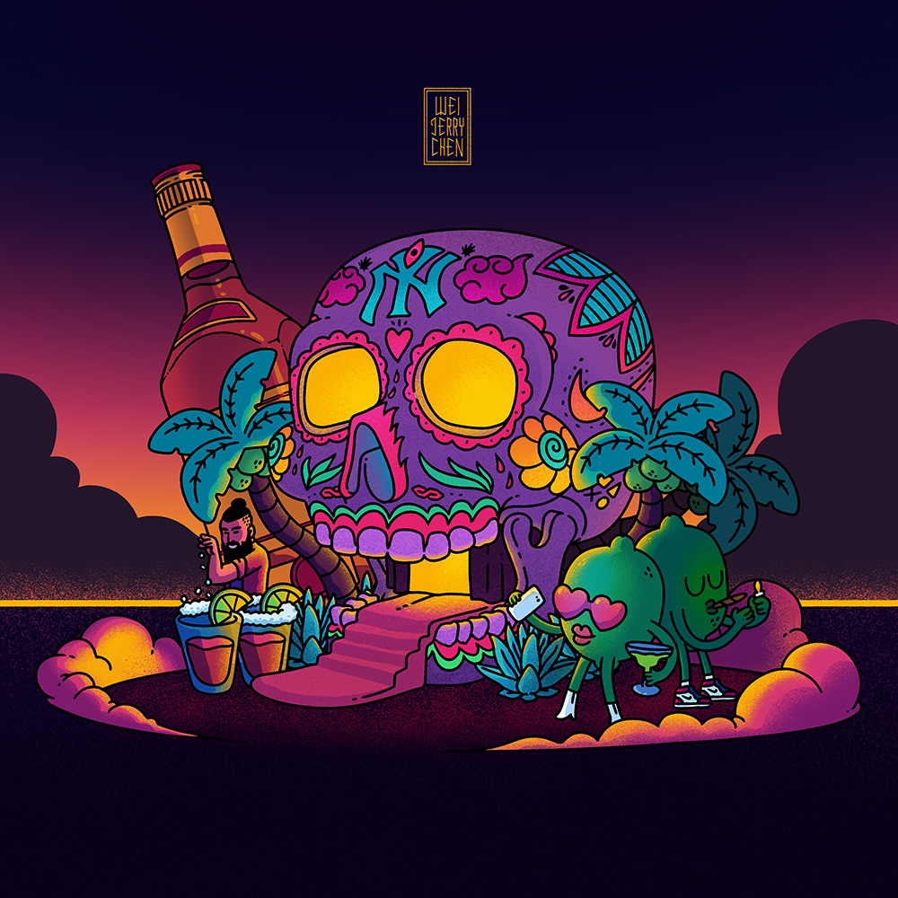 CUERVO-FEST_2019_weijerrychen_ART_ILLUSTRATION_SUGAR-SKULL_WEISTED.jpg