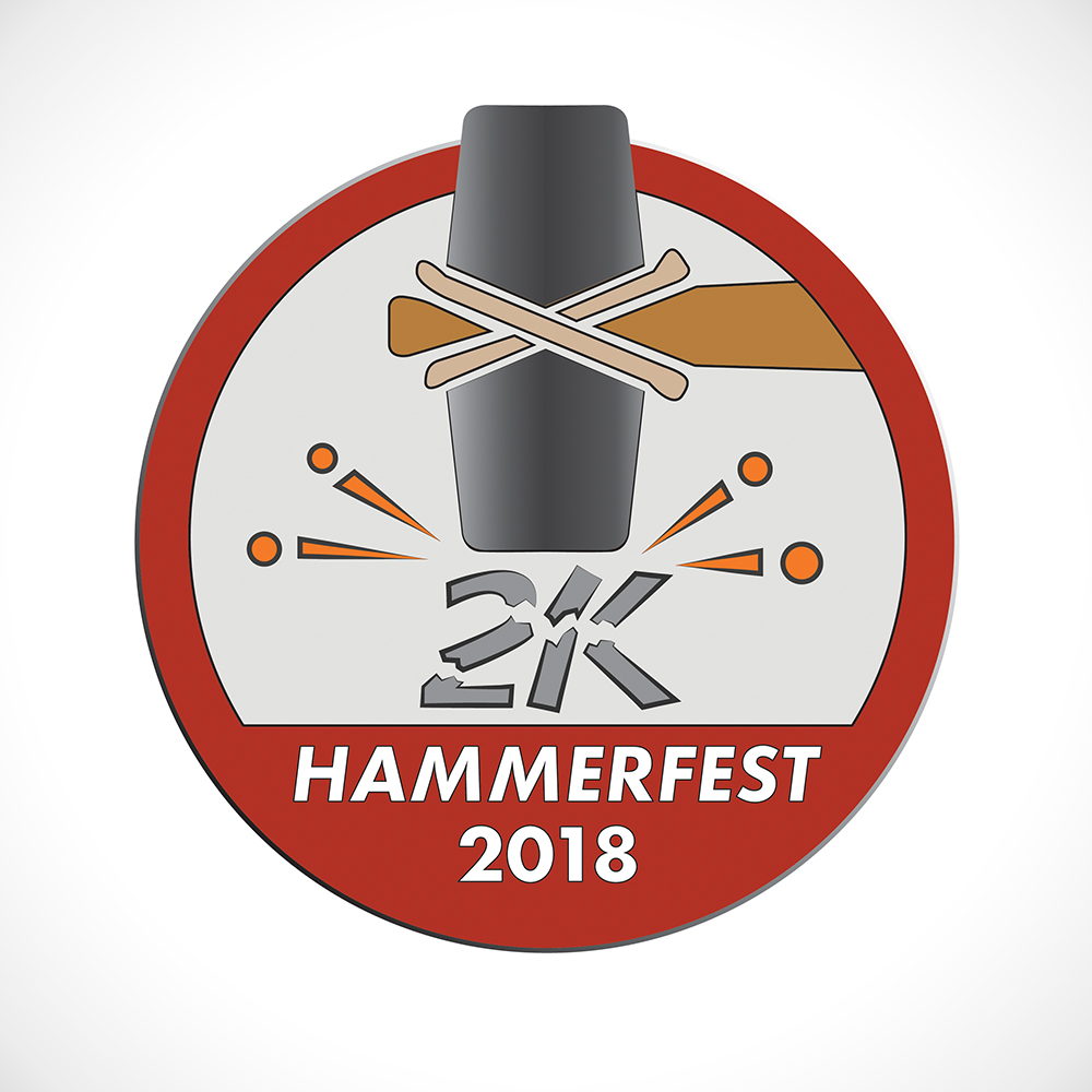 Graphic Design/Branding - Hammerfest Indoor Rowing Race