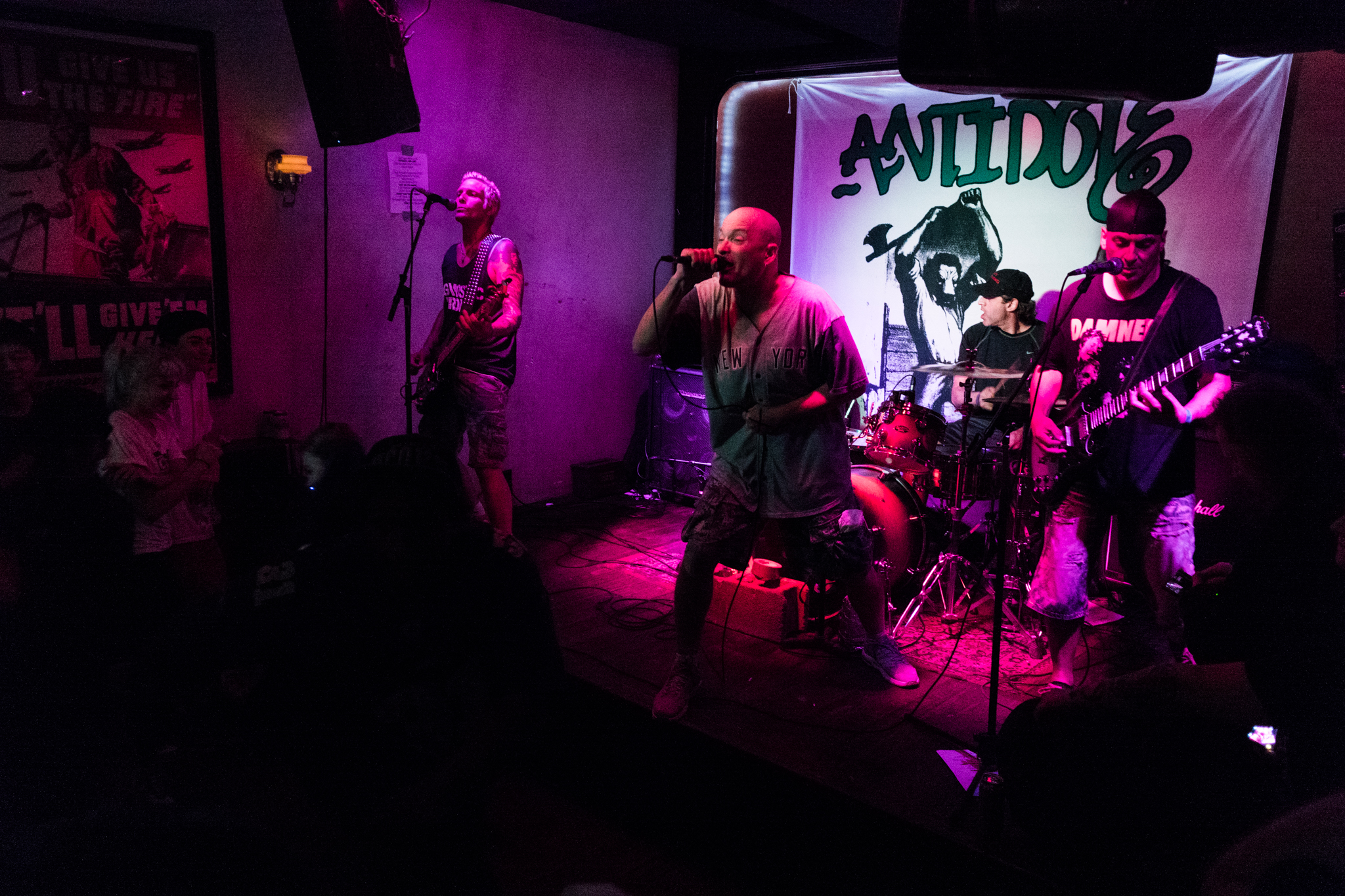 Antidote performing at Grand Victory.