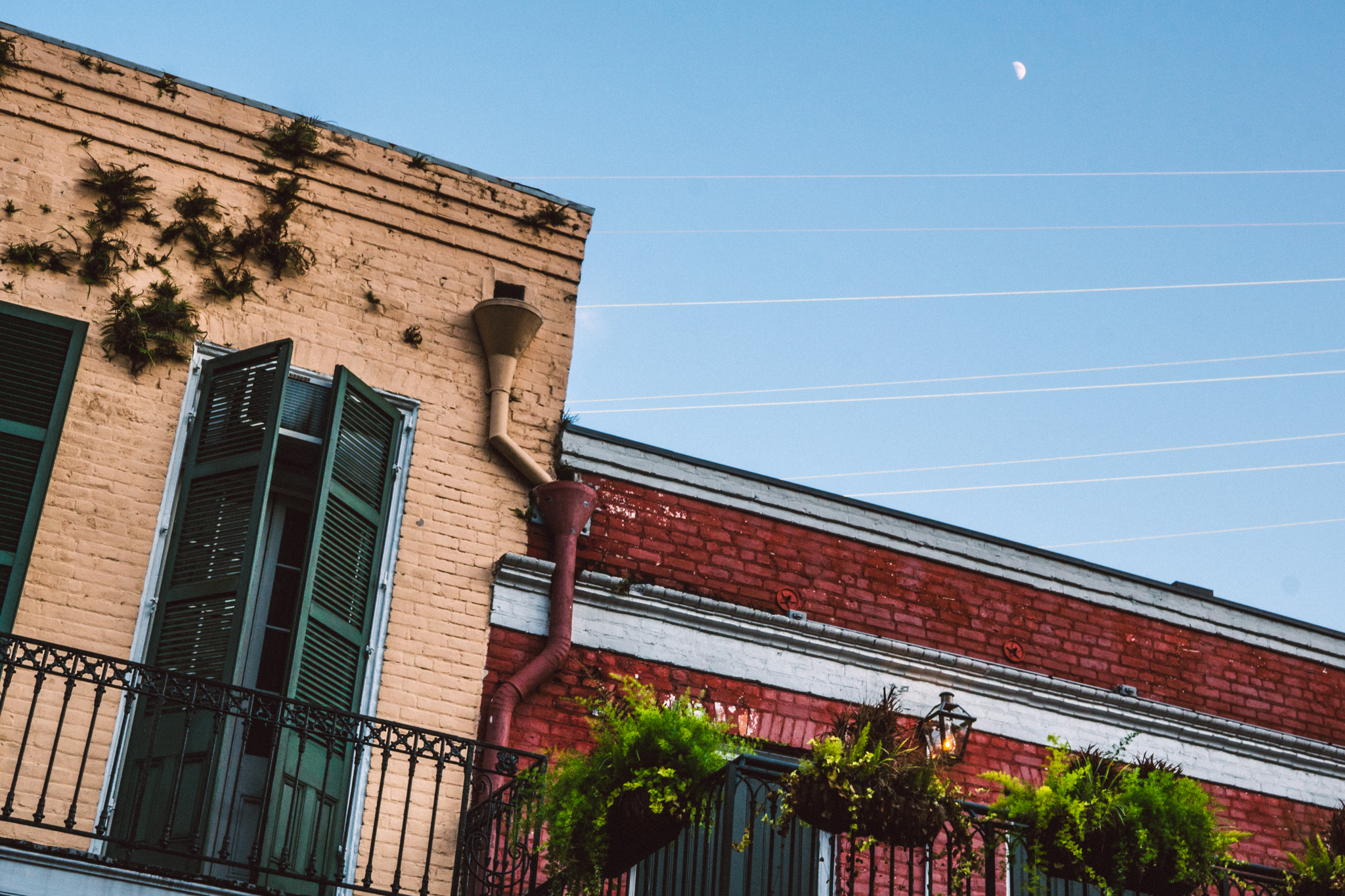 A building on Decatur Street in the French Quarter.