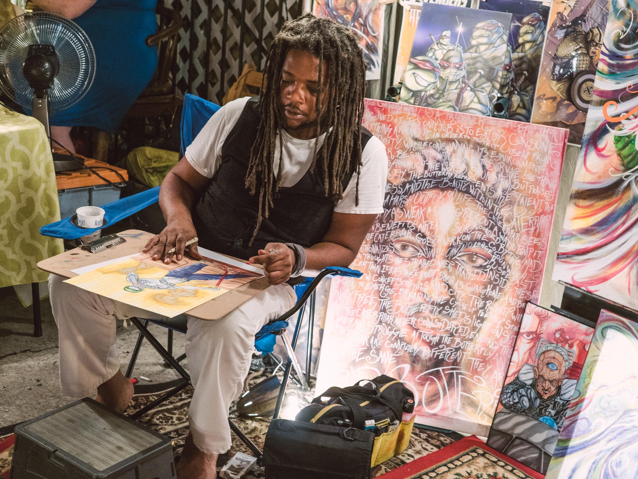 Frenchmen Street Art Market