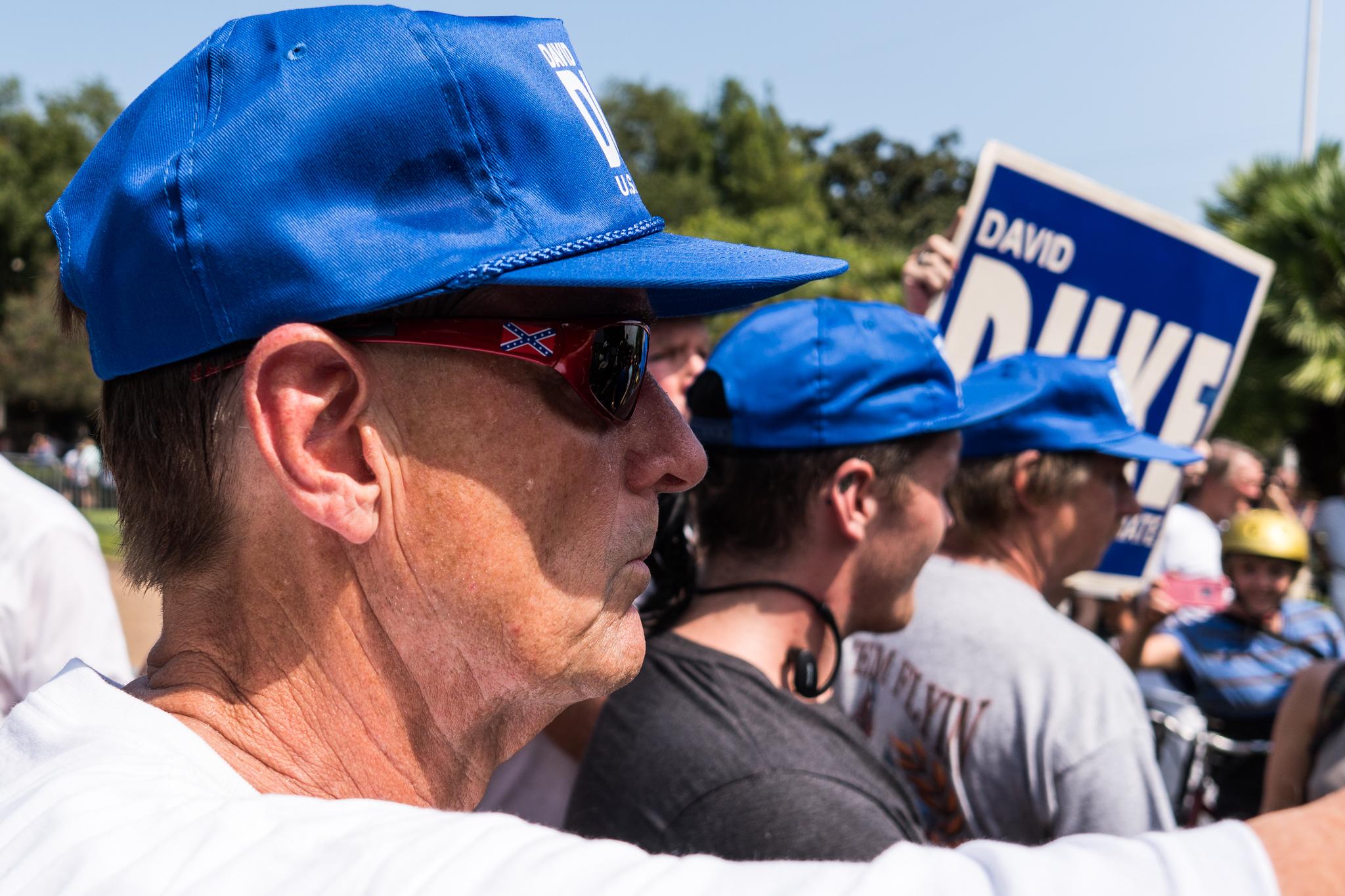 A supporter of David Duke.