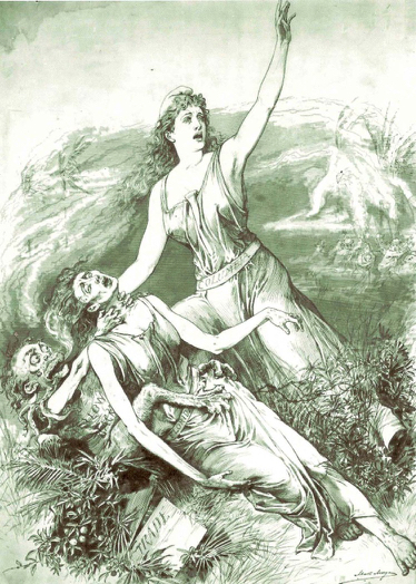An illustration from the late 1800s.