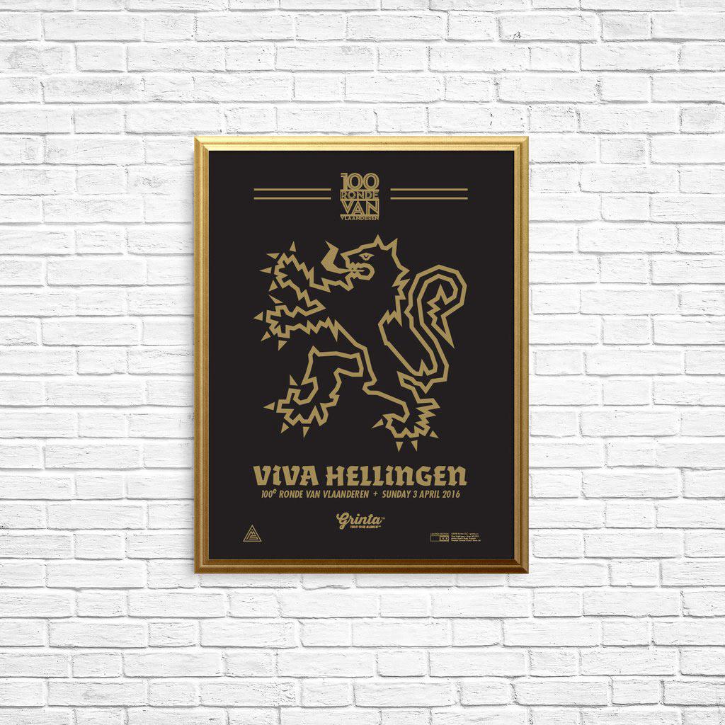 Grinta Poster - Lion of Flanders
