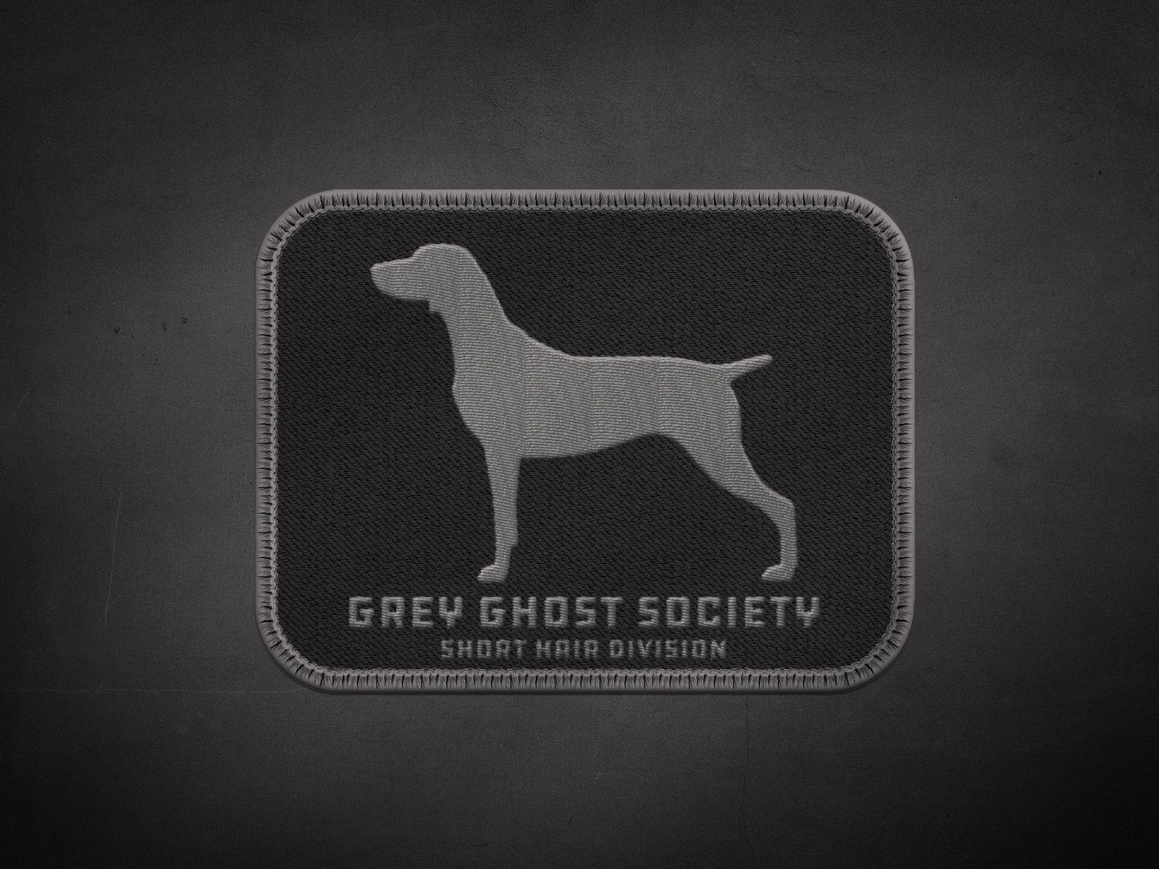 Weimaraner Short Hair Division Patch