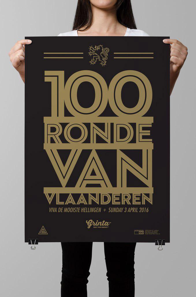 Grinta Poster - Flanders 100