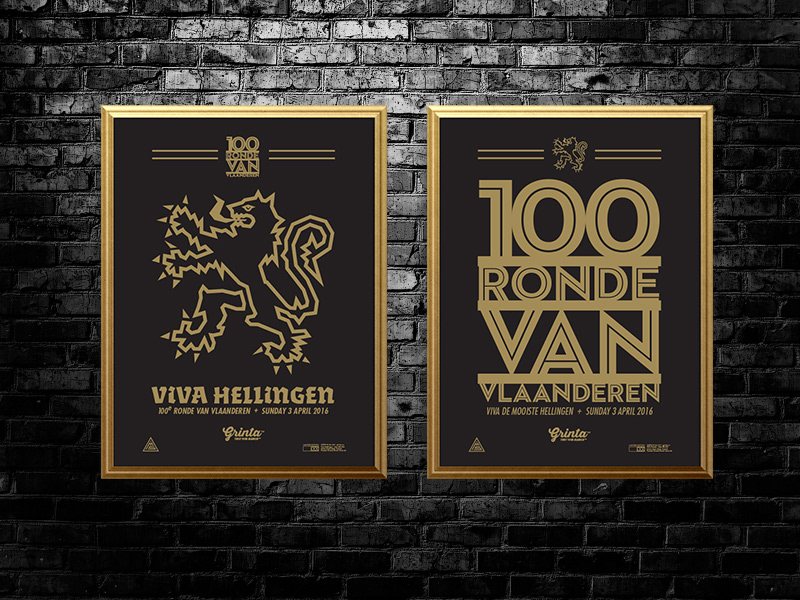 Grinta Poster Set - Vlaanderen / Tour of Vlanders