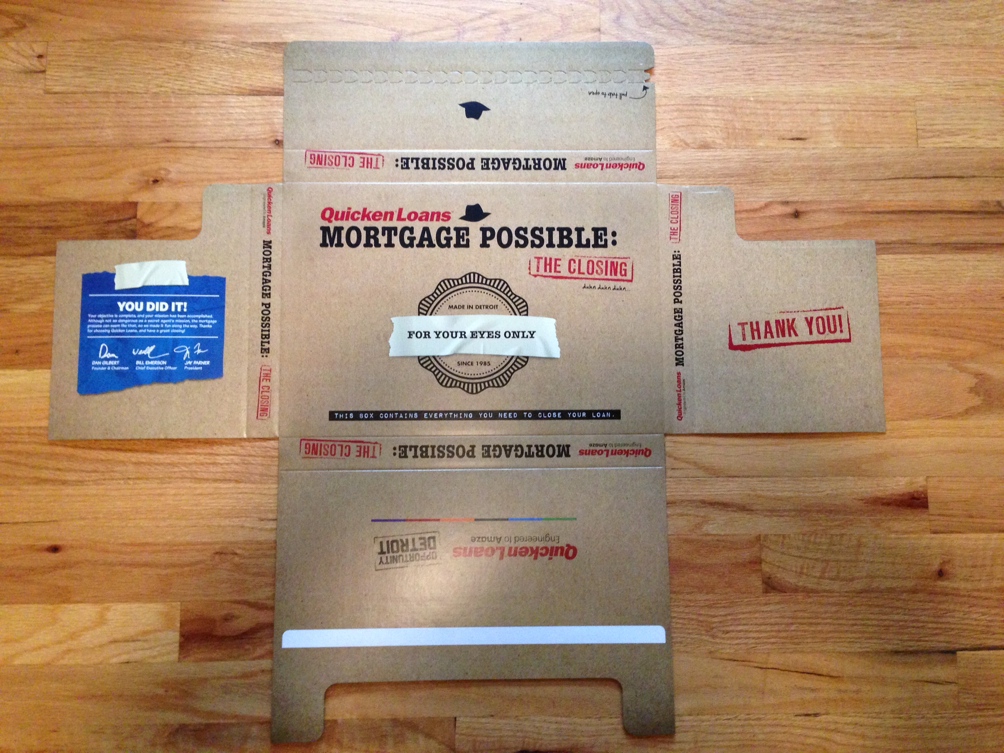 Quicken-Loans-Mortgage-Possible-Closing-Box-Packaging-Flat-Outside.JPG