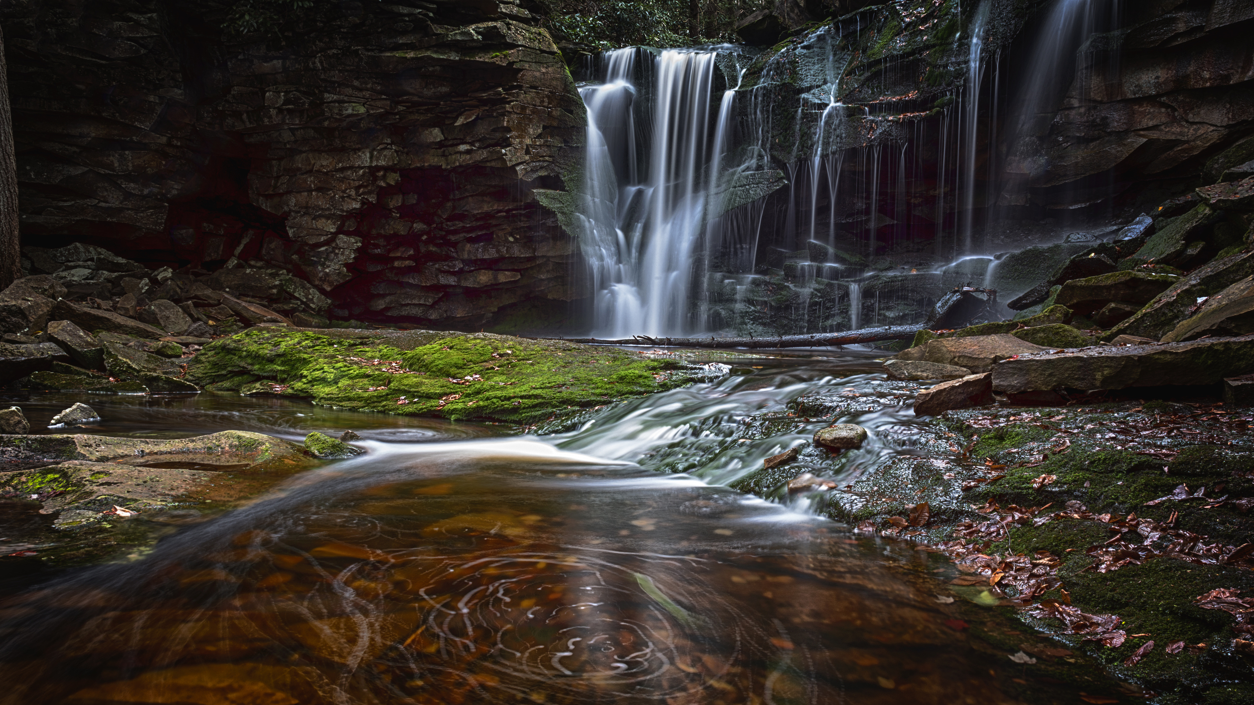 This photograph of Elakala Falls, West Virginia, is a finalist for the Photoshop World Guru Awards.