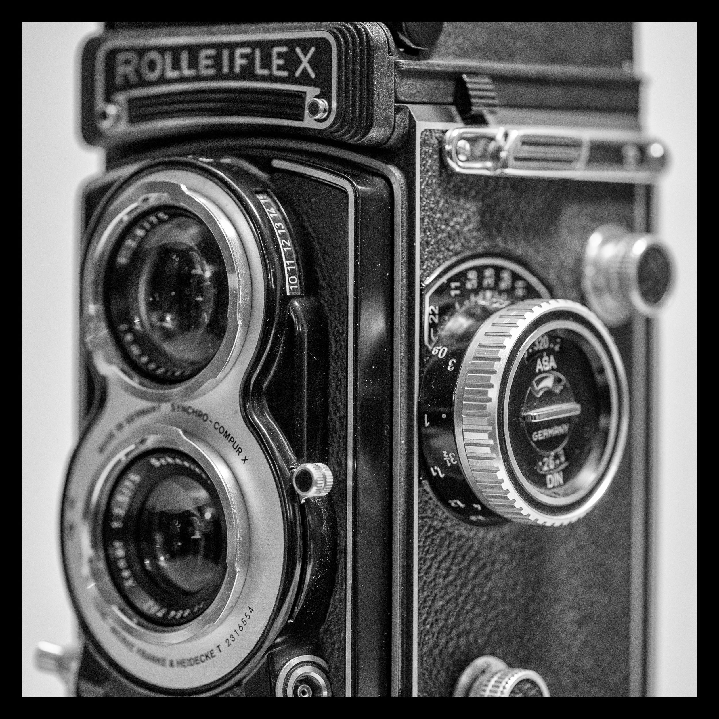 My Rollei T Whiteface - the camera that started my obsession with medium format film photography