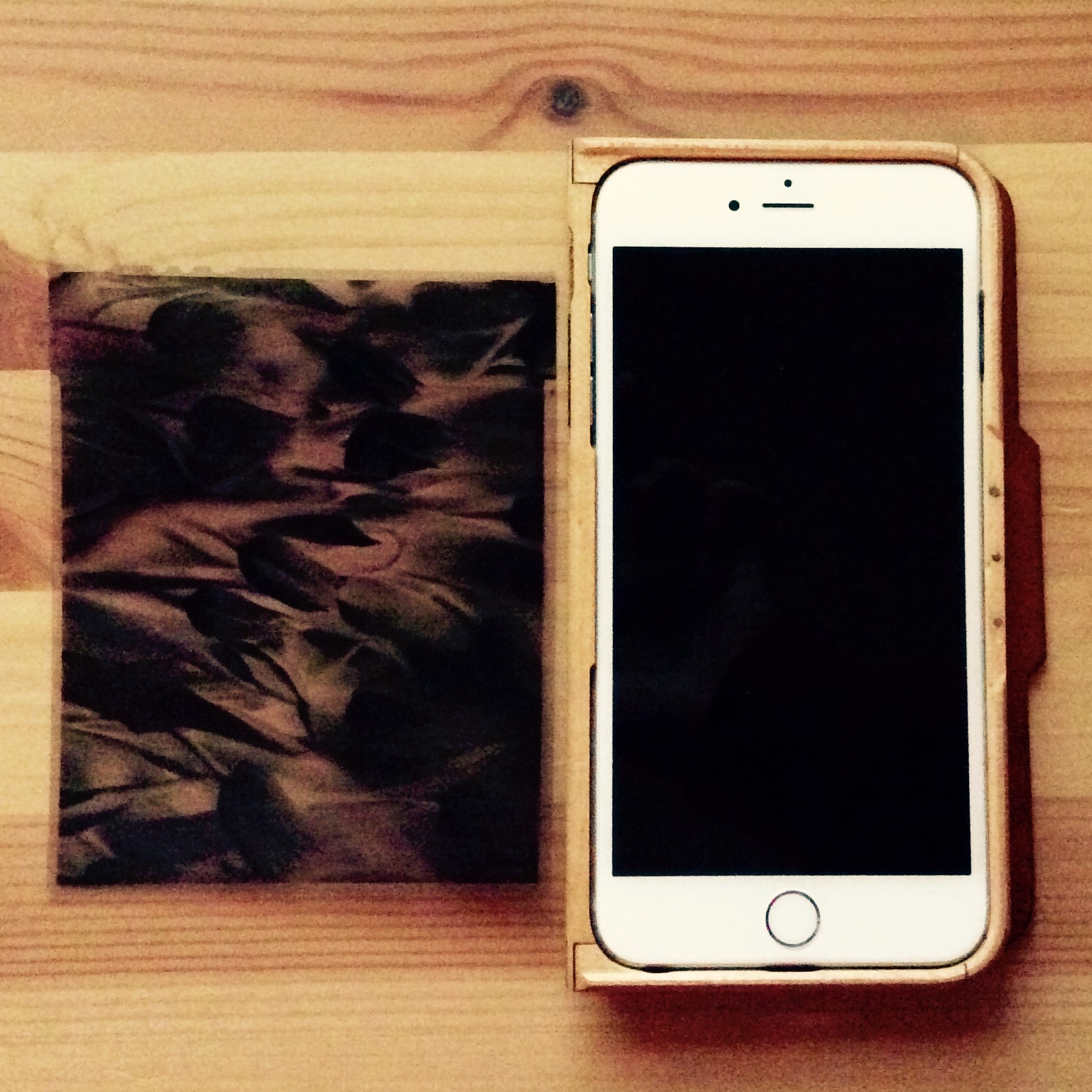 The large format negative vs the iPhone 6 plus