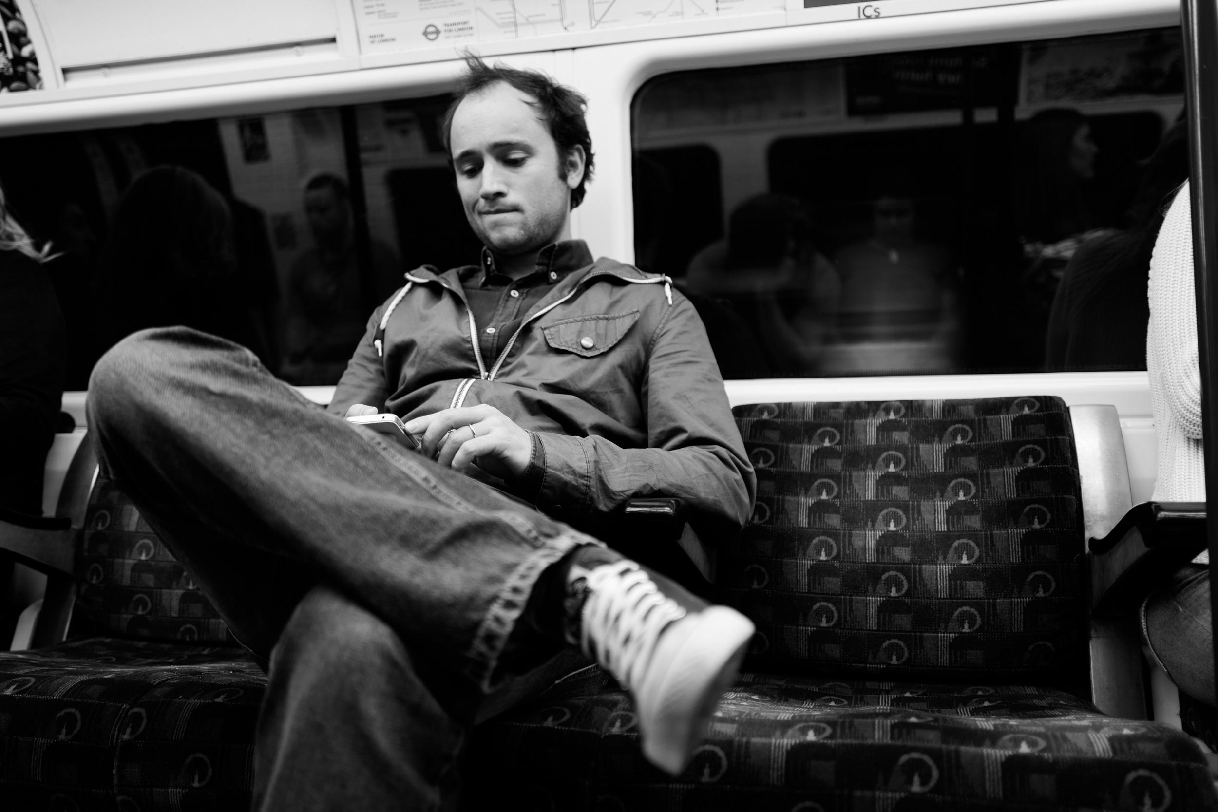 """Ride"" - Leica Q in London's Underground"