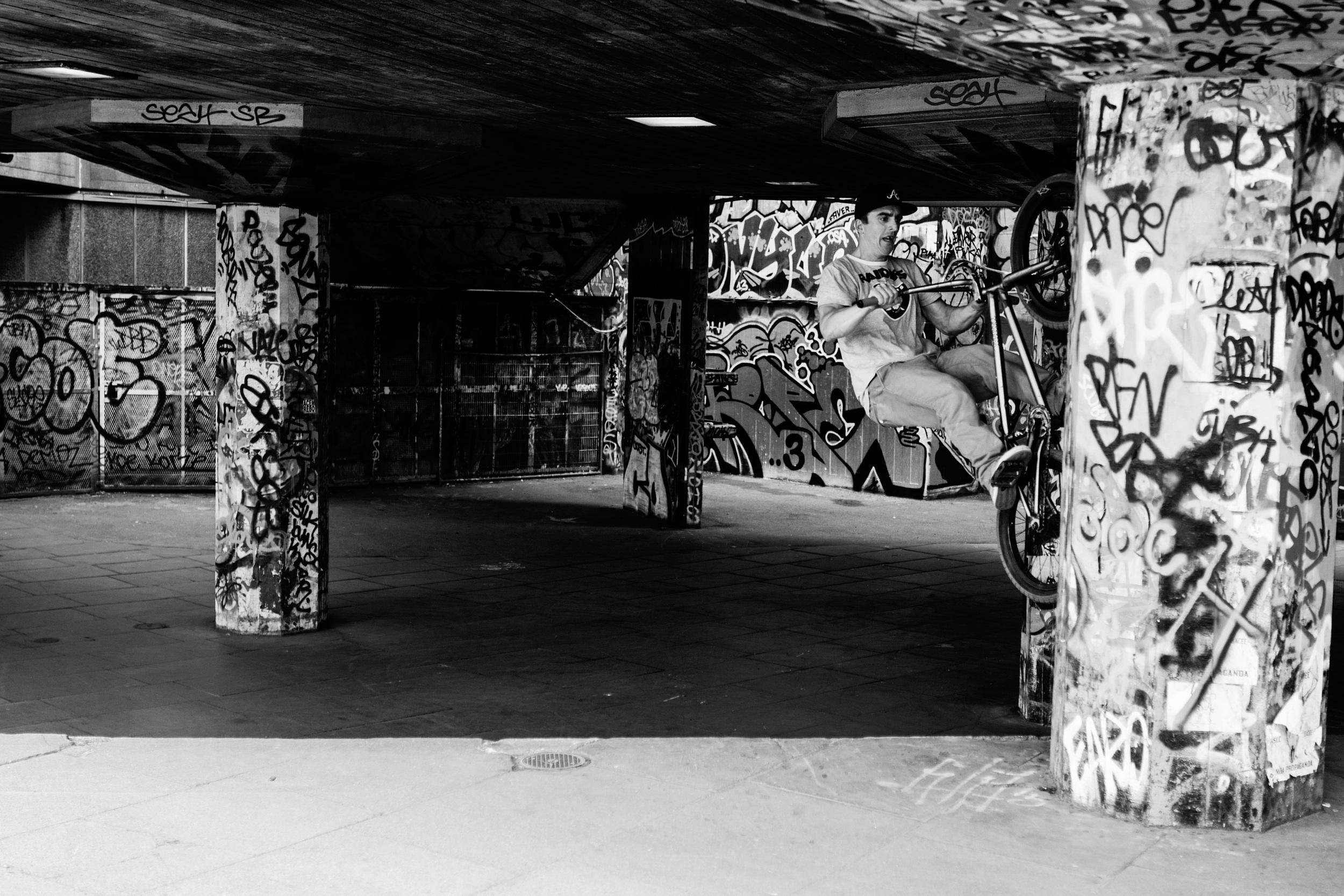 """Vertical"" - Leica Q at Southbank Center Skate Park"