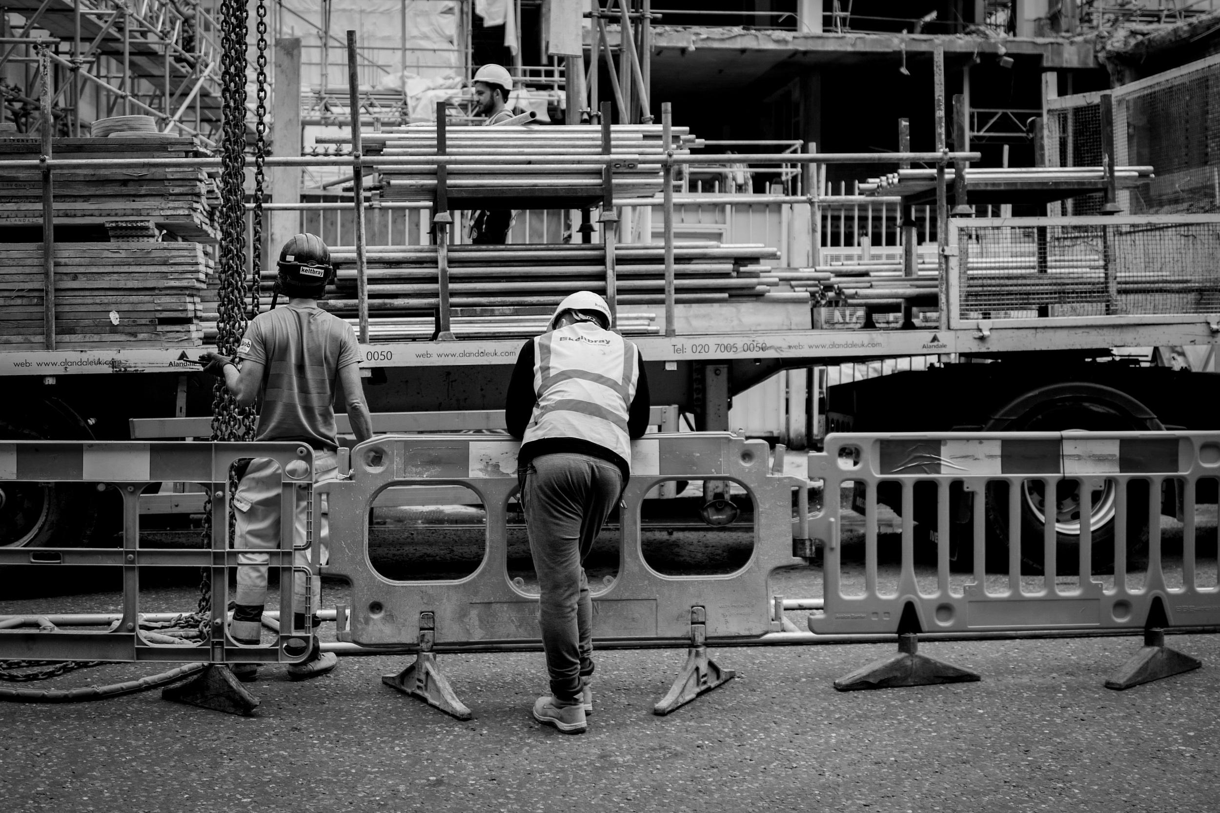 """Supervisor"" - Leica Q at Moorgate, London"