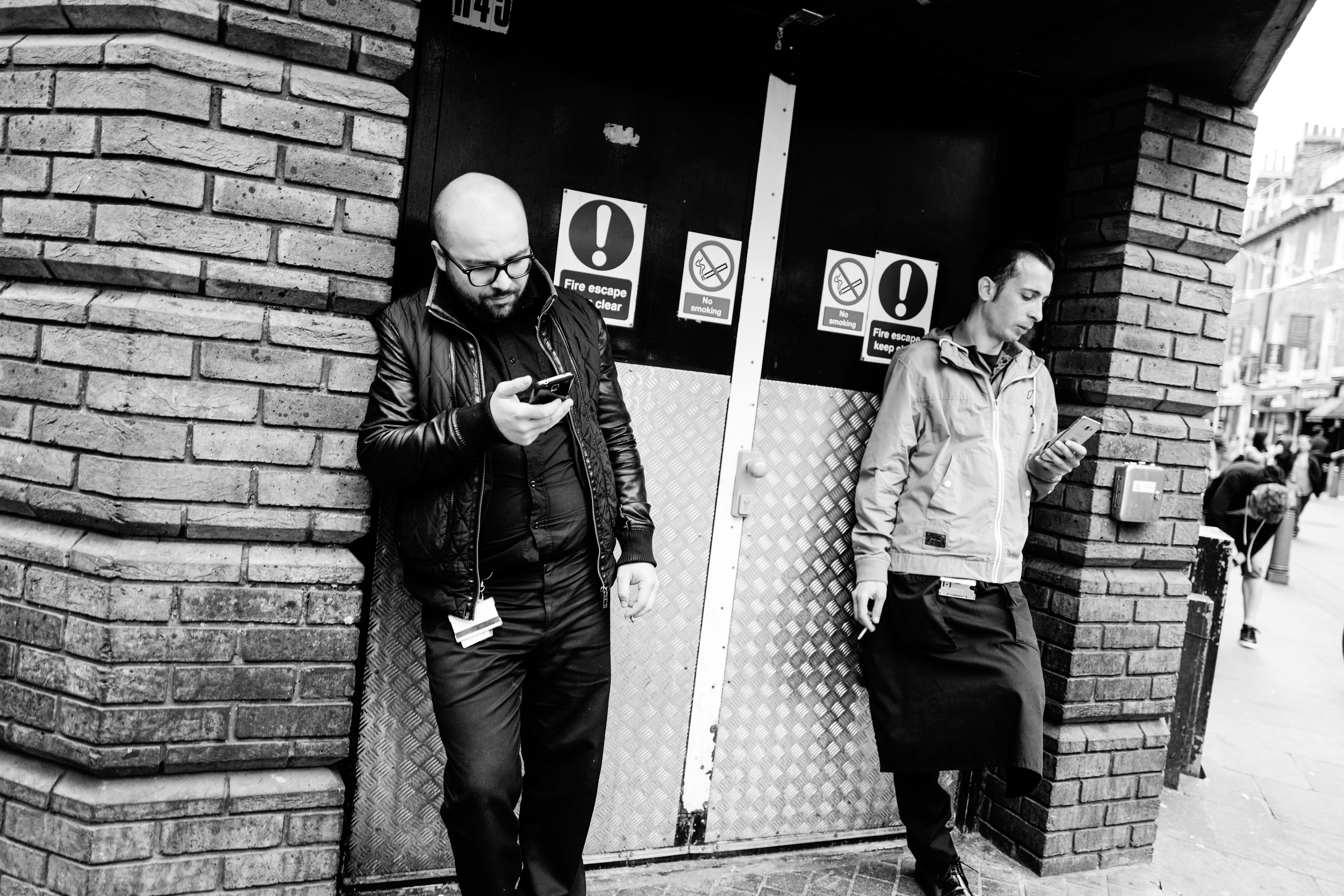 """Check In"" - Leica Q in Soho, London"