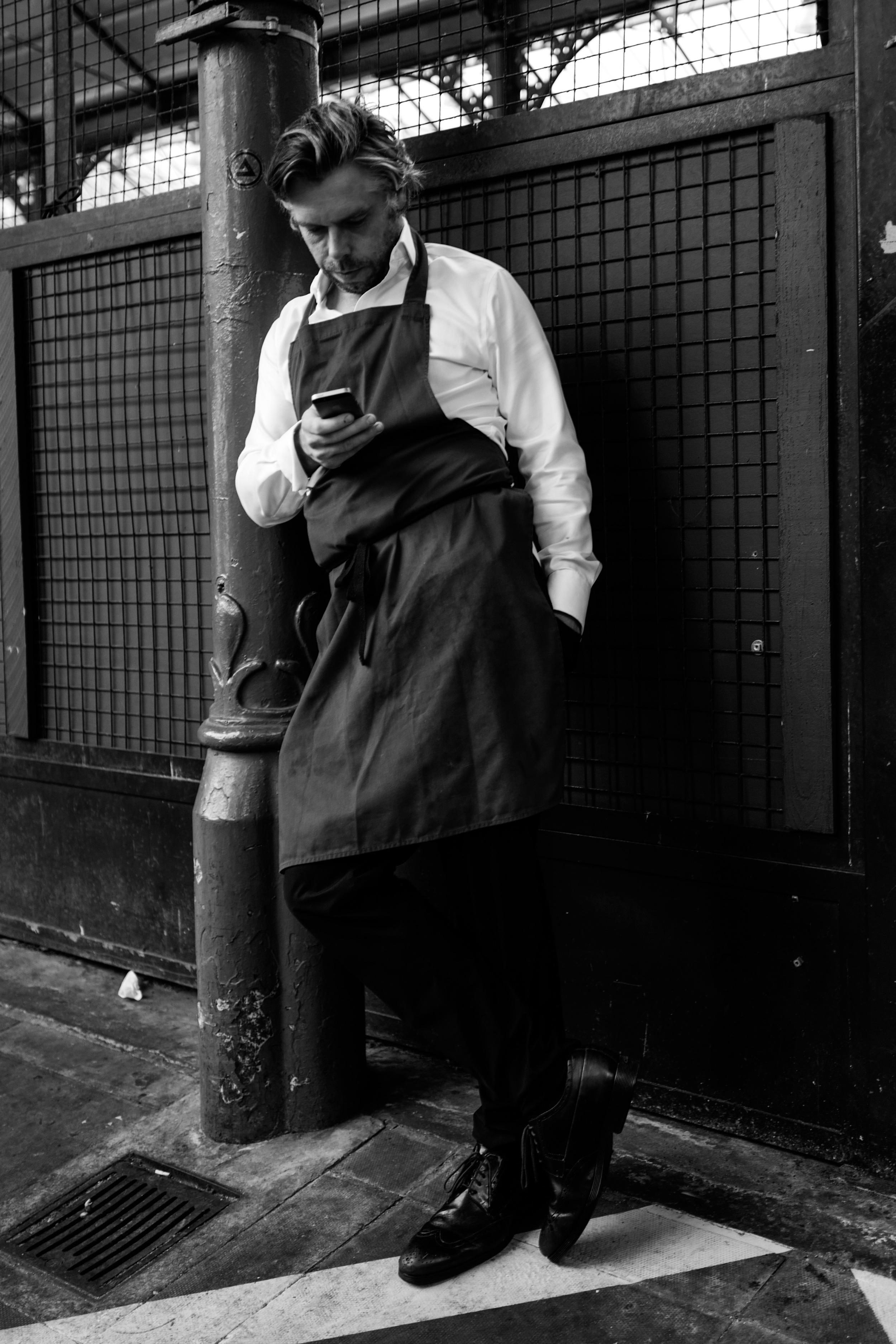 """""""Lean"""" - Leica Q at Street Market in London"""