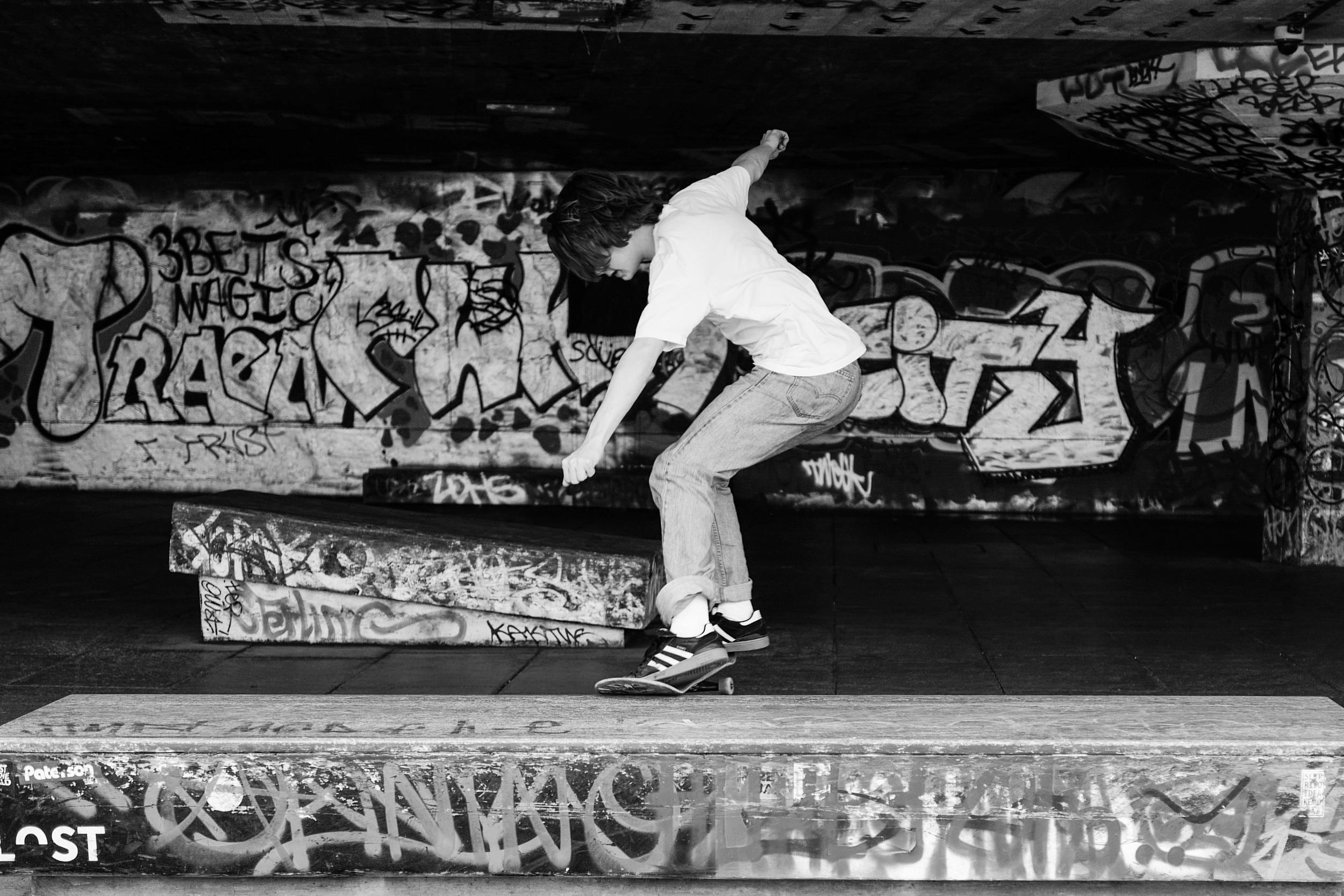 """""""Grind"""" - Leica Q at Southbanke Center Skate Park"""