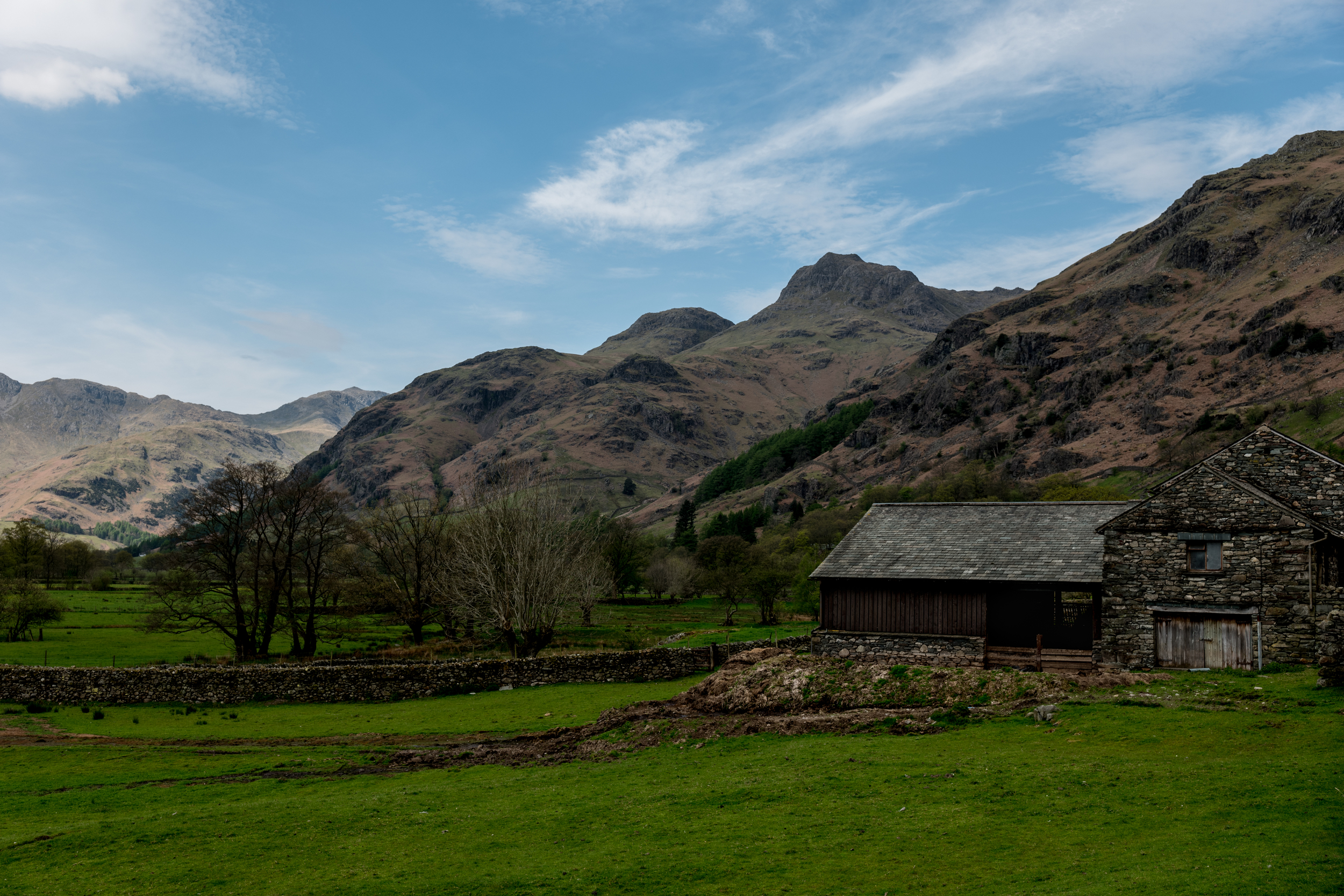 If the goal is vibrant and accurate color rendition, than the Leica SL has you covered. Farmhouse photographed around high noon in the Lake District - no filters. I pulled over on the side of the road to take this photograph. Nothing fancy.
