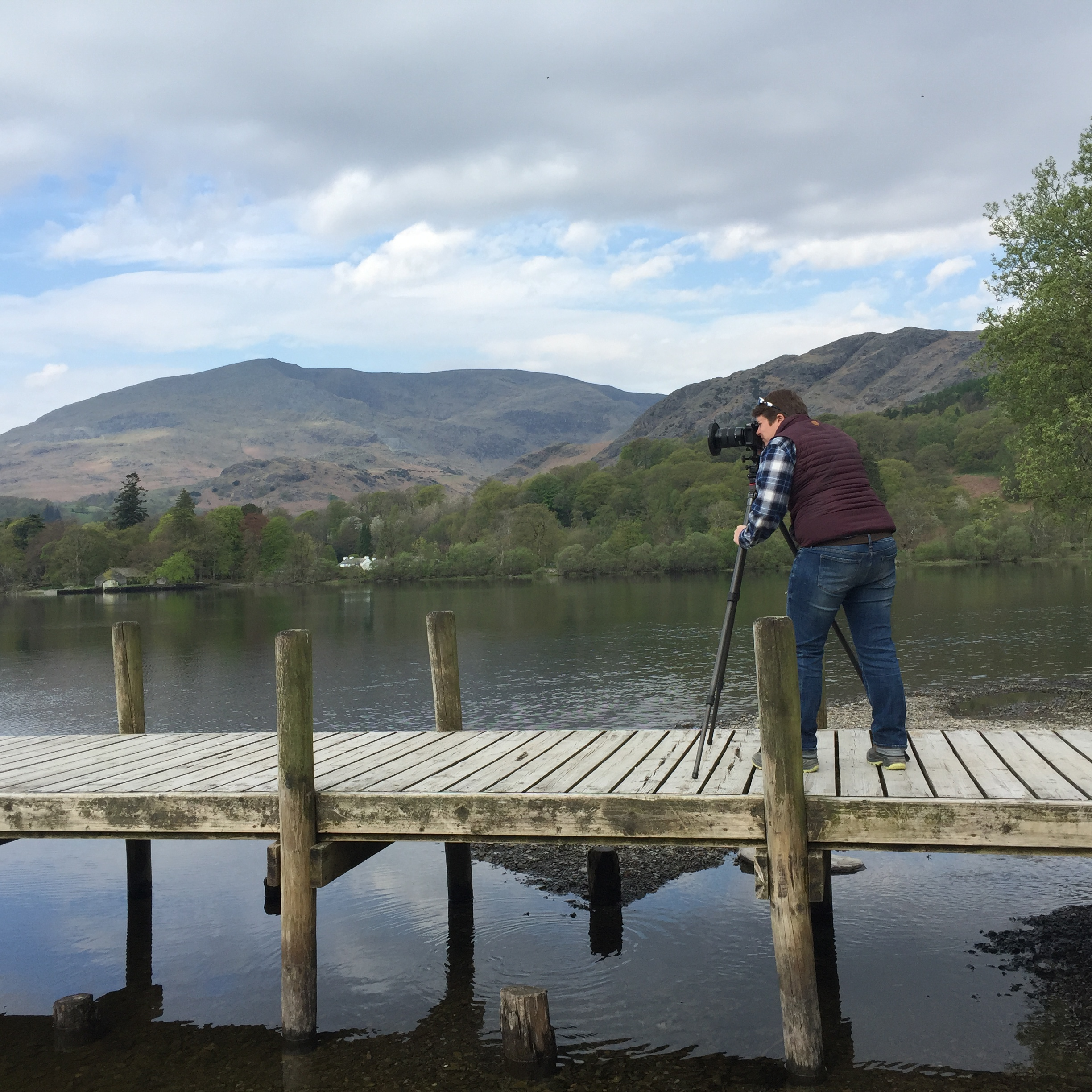 Shooting the Leica SL with some big neutral density filters in the Lake District of England