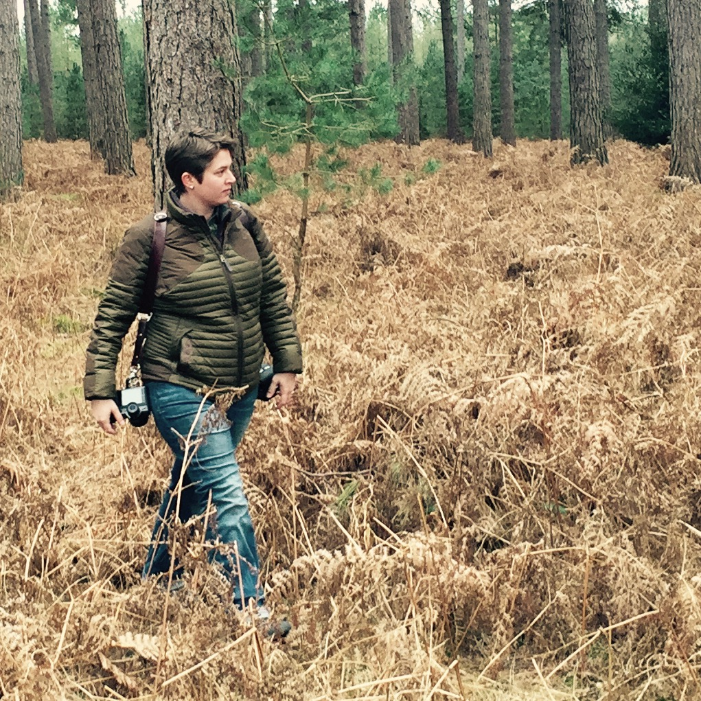 A photo from my husband, the  Photo Sherpa Guy , of me carrying the SL in Thetford Forest. I prefer to carry the SL with the Holdfast Gear Moneymaker strap (seen above).