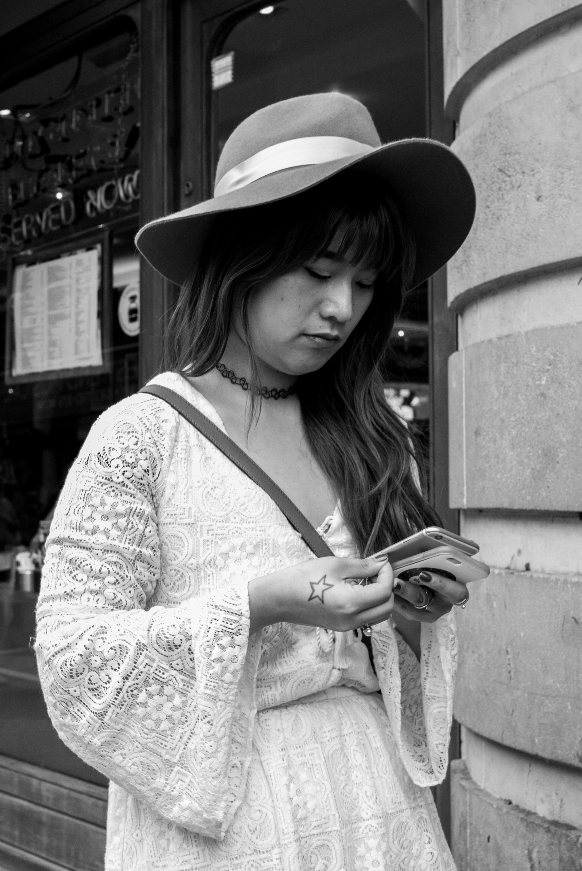 Two Phones? -Leica MM with Leica 35mm Summarit ASPH
