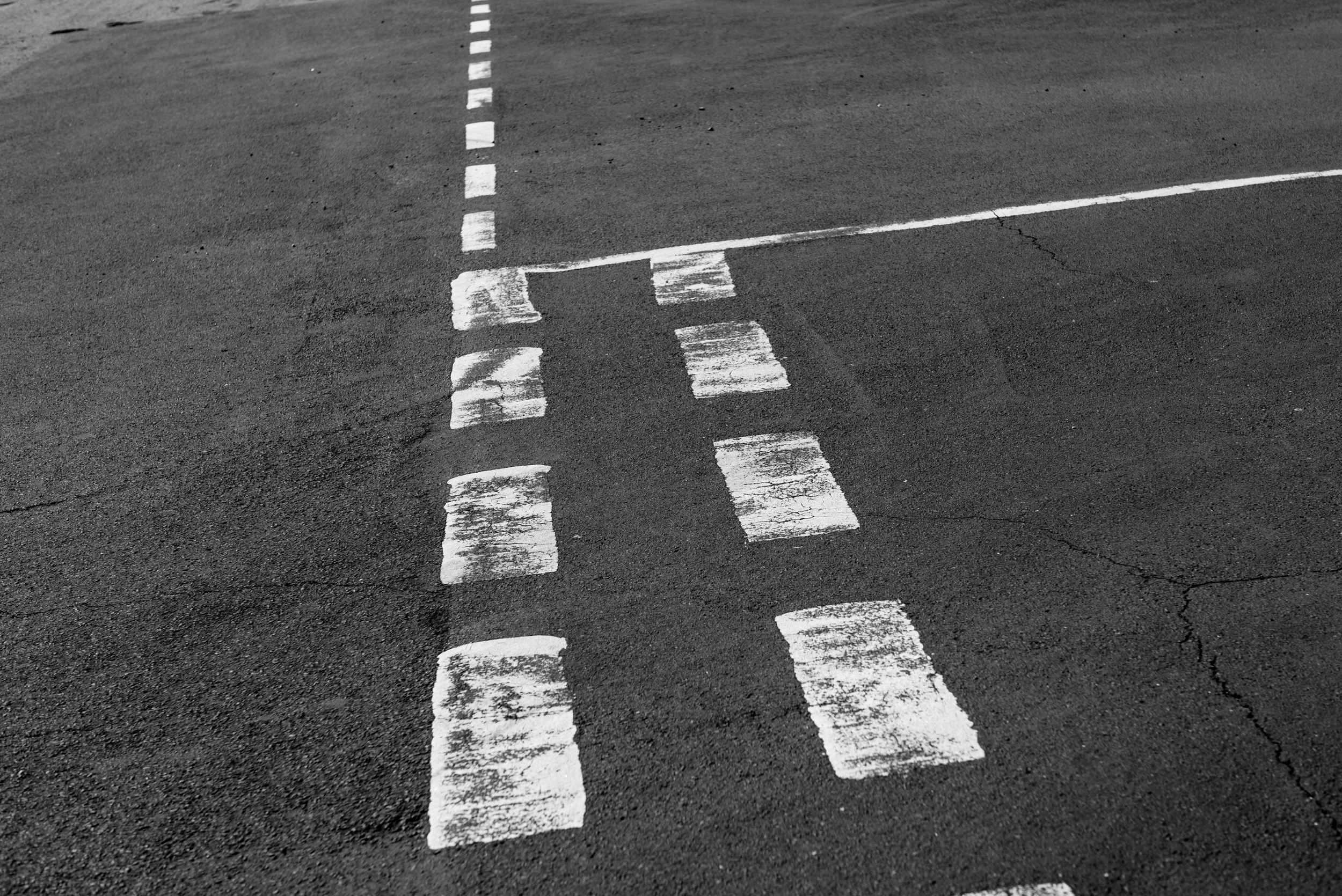 Road Markings -Leica MM with Leica 50mm Noctilux f/0.95