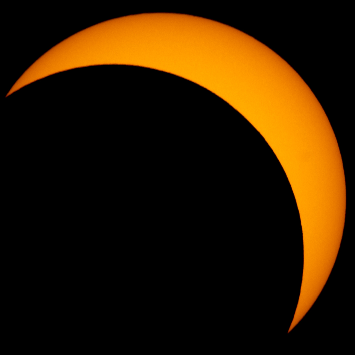 One of the six solar elements used in the composite image