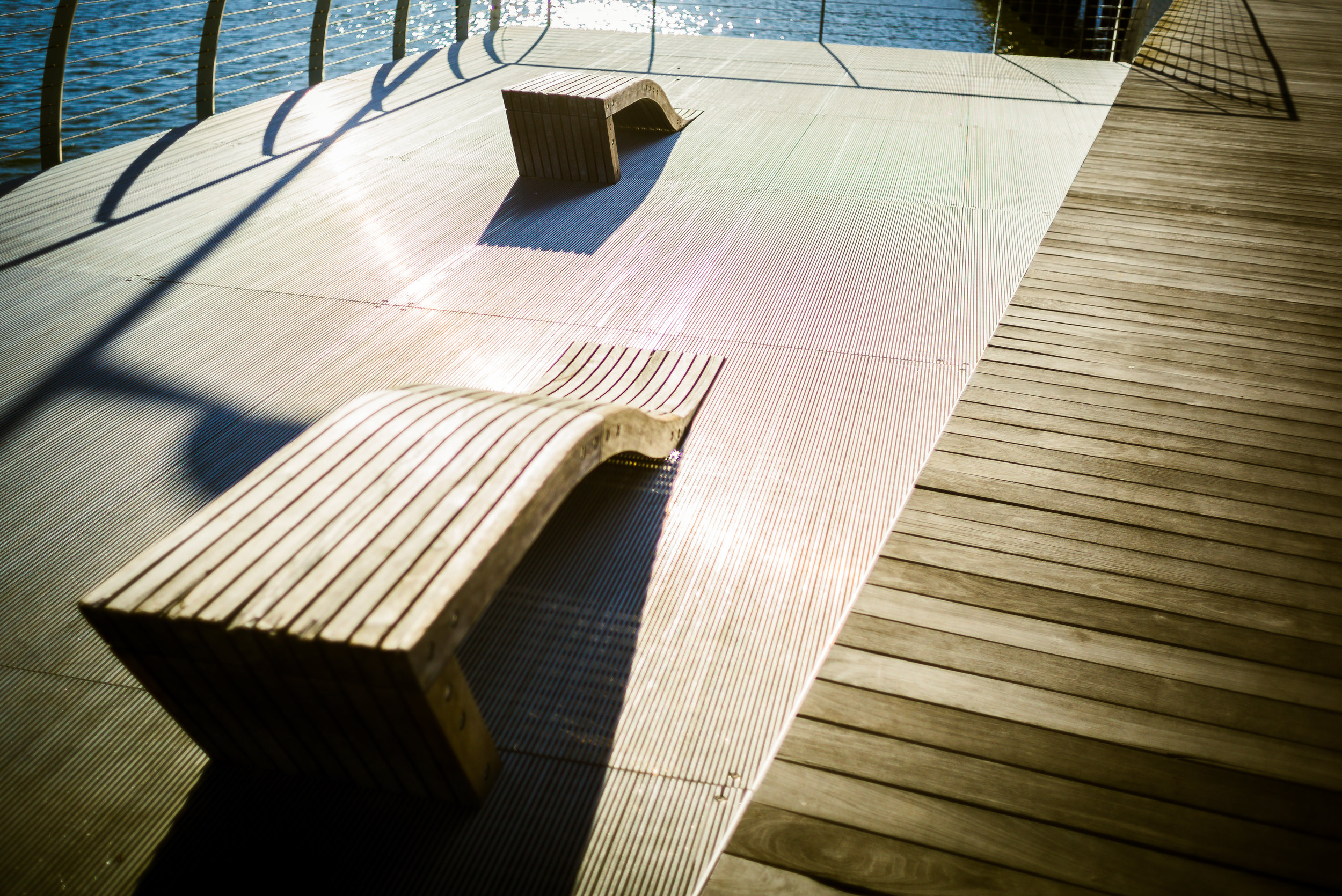 "Wave Bench - Leica M240 with 50mm Summicron ""Made in Canada"""