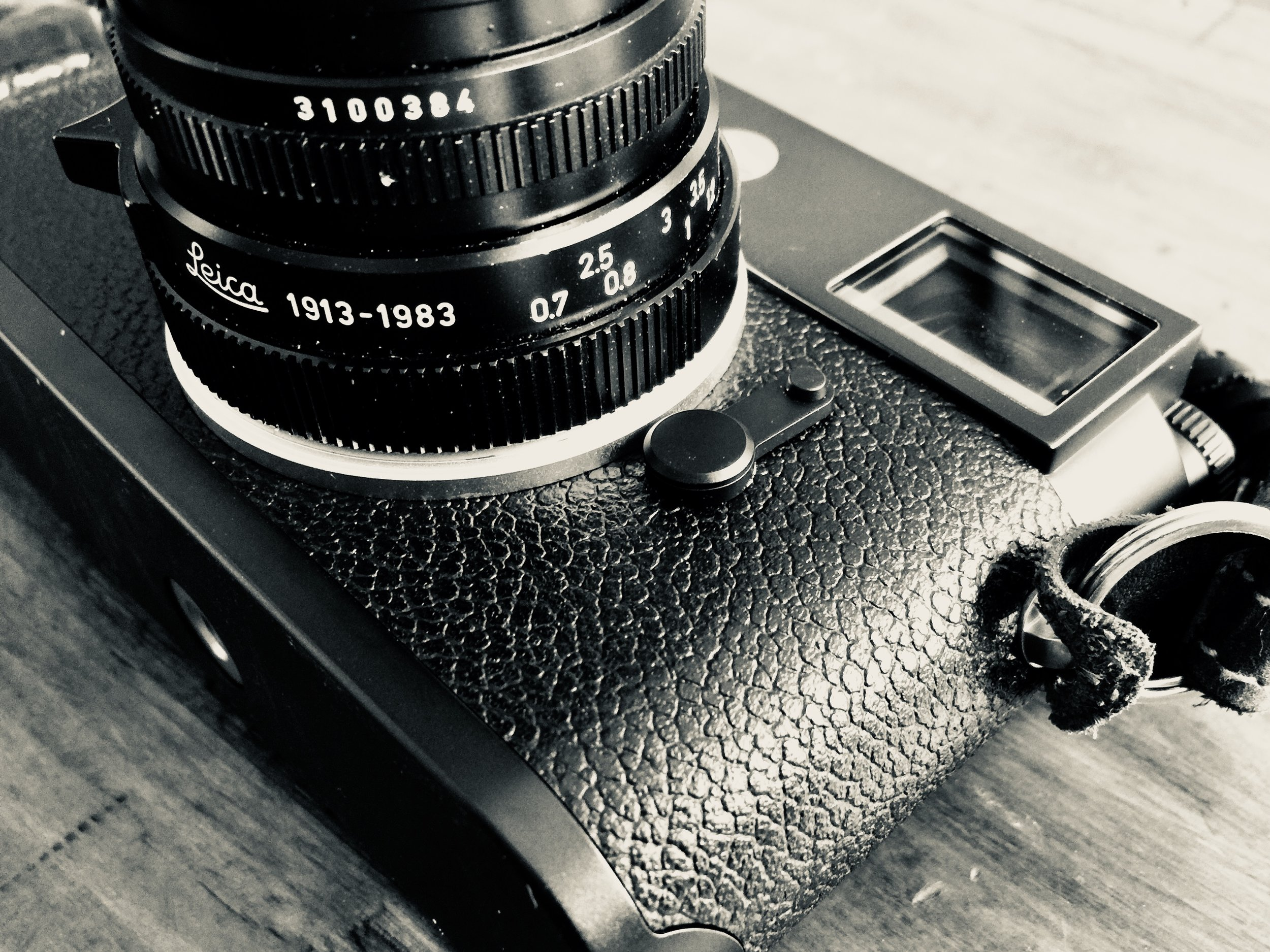 "M10 with 70year anniversary edition 50mm f/2 Summicon ""Made in Canada"""