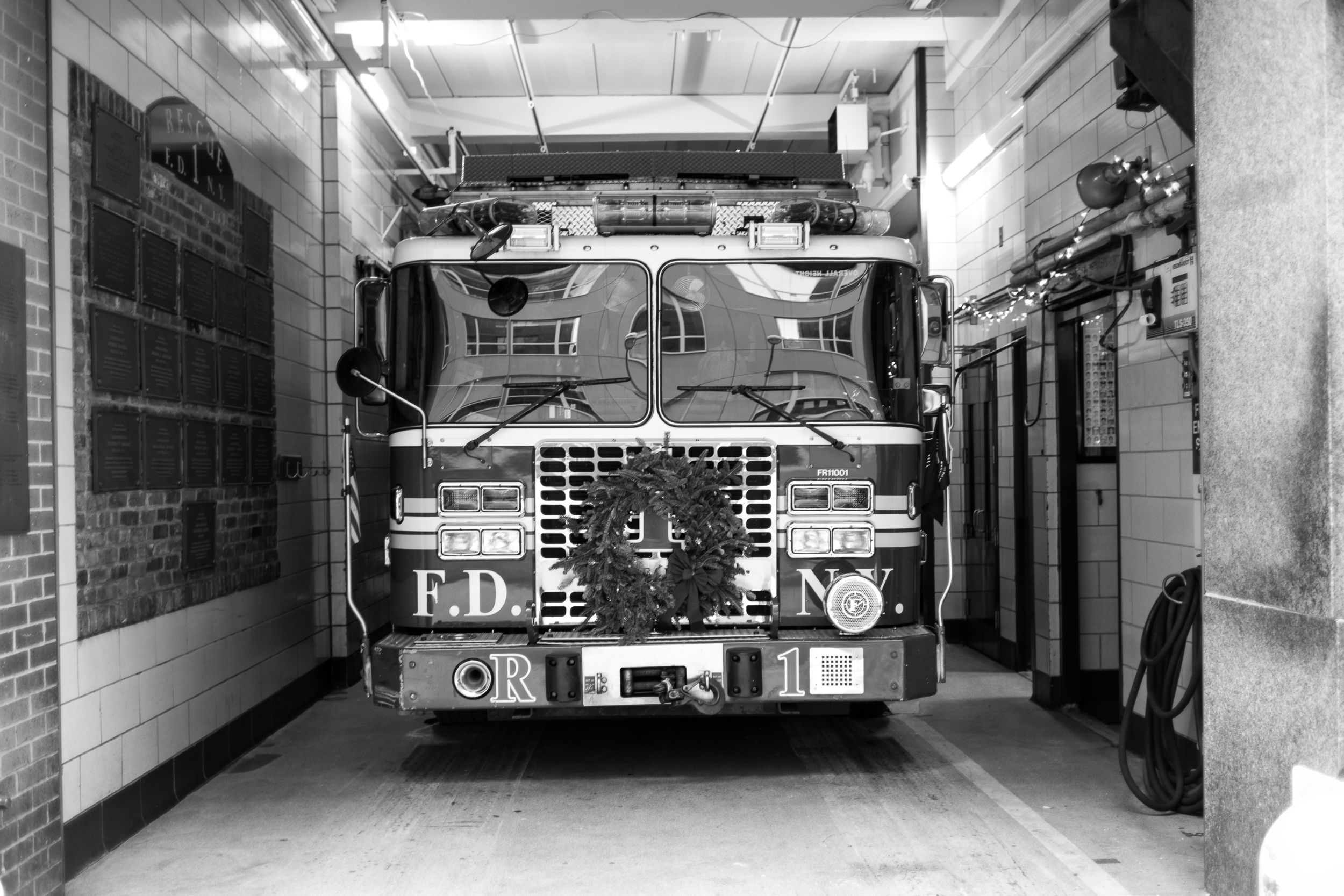 Ready and Waiting.  A FDNY truck sits at the ready to respond to any incidents around the city.  Leica M10 with 35mm Summicron f/2.