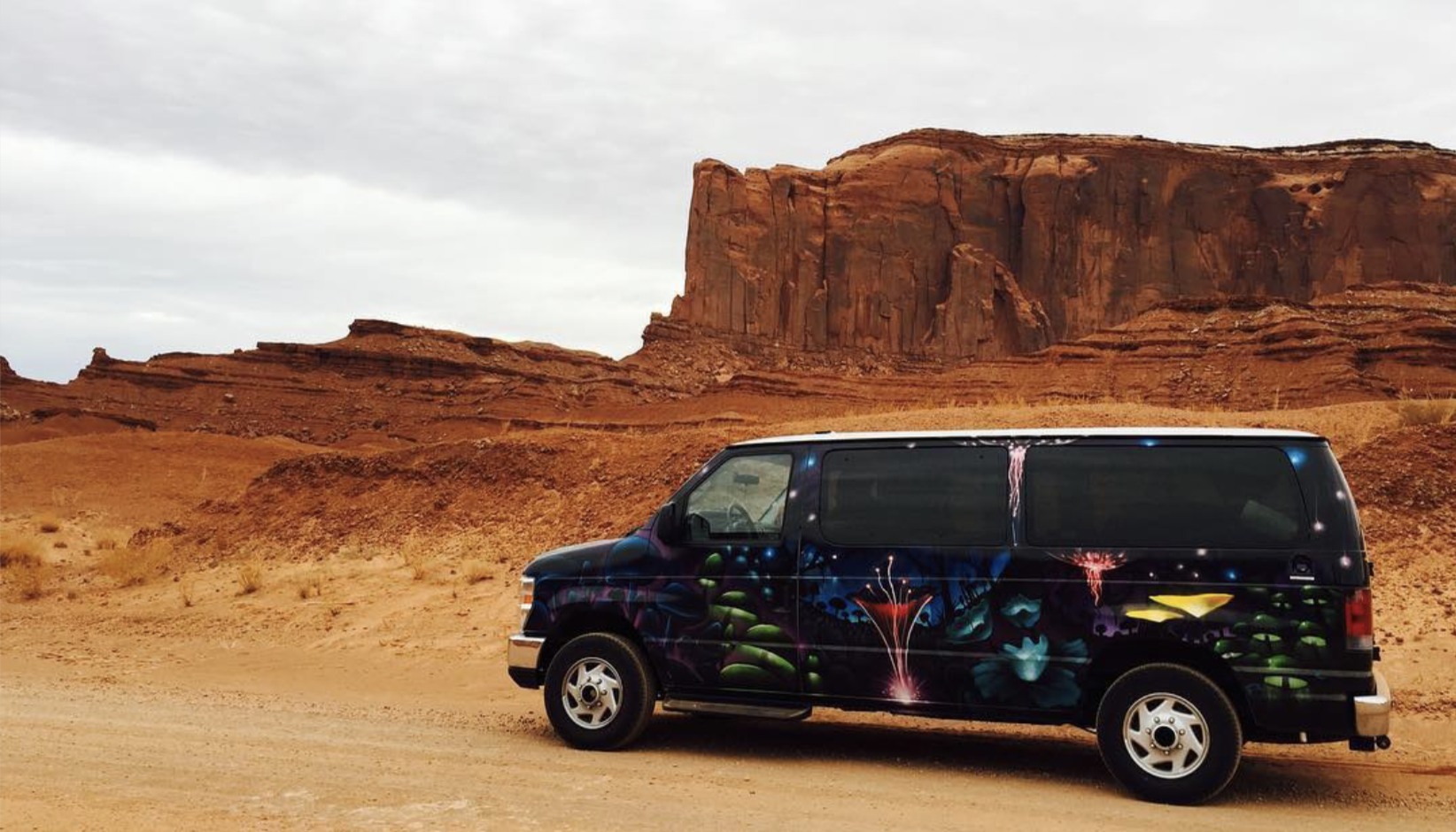 Our rental van from December 2016... the van that started it all!