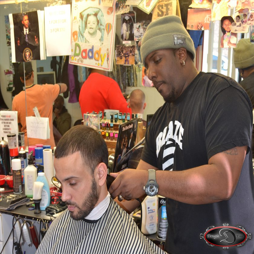 """Johnny """"Blaze""""   Licensed Barber with over 17 years experience    Hometown: New Britain, CT"""