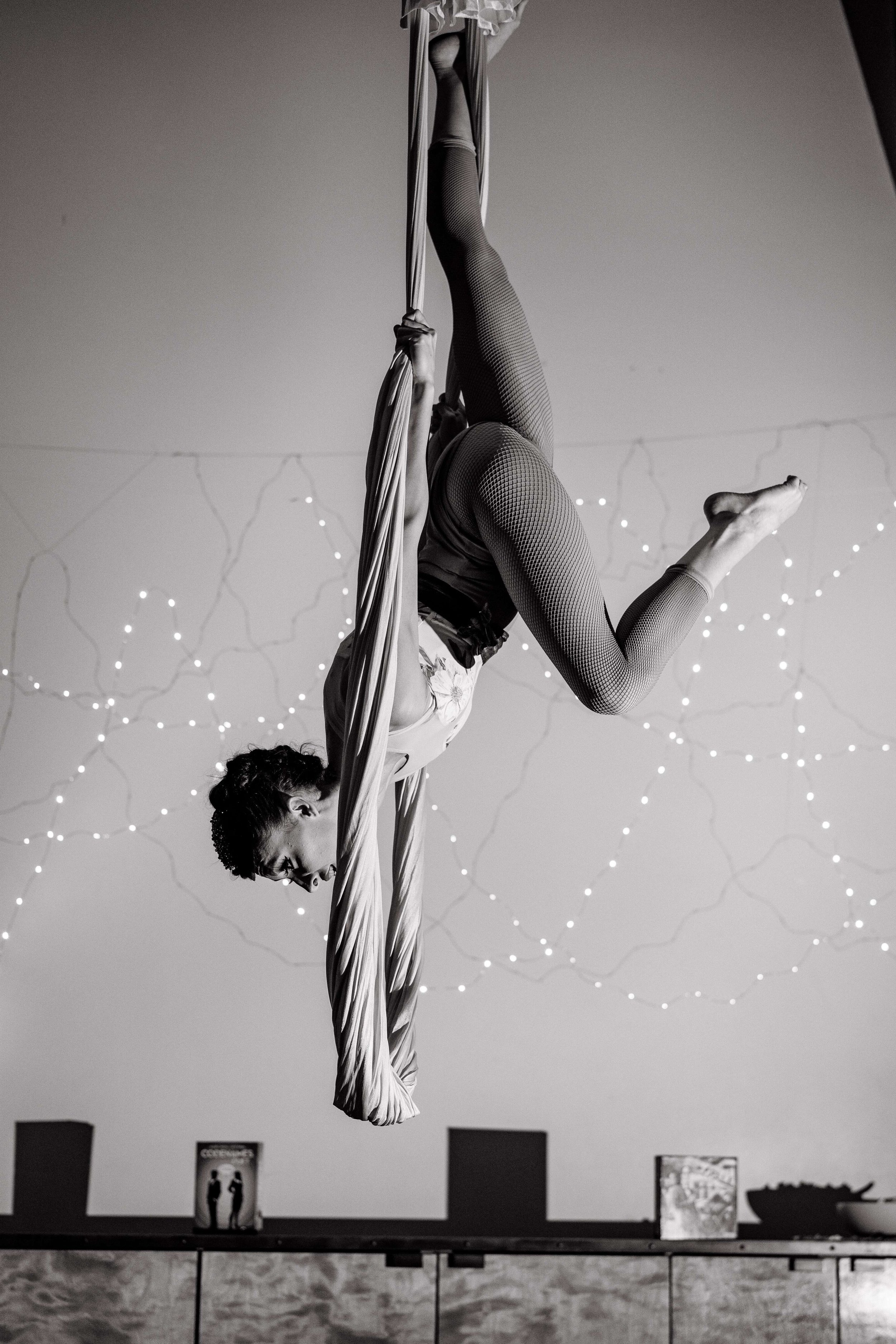 Absolutely Stunning, Jody Poth, aerialist