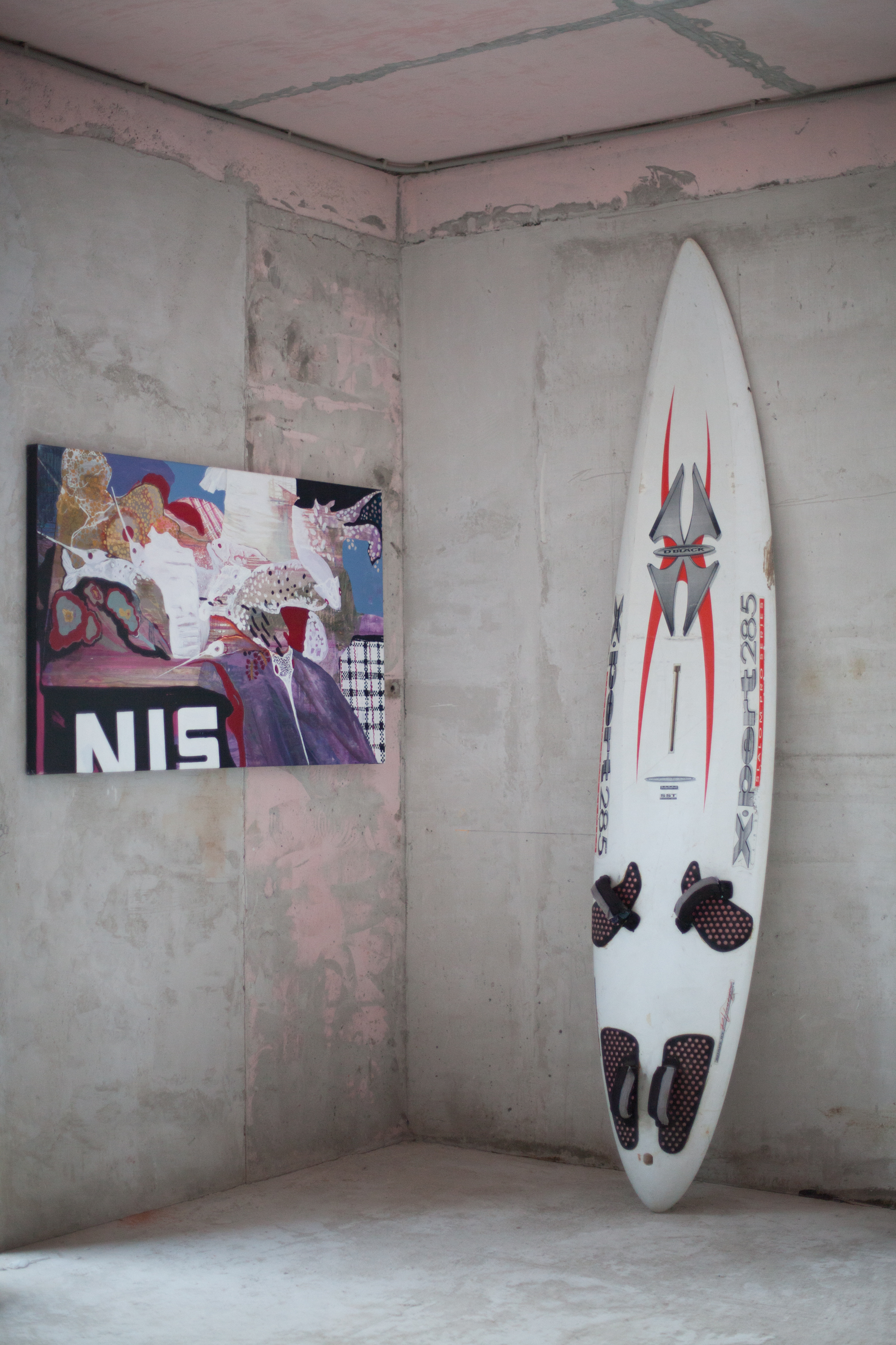 Exhibition at NII x Alpbau, Moscow, Russia, 2016