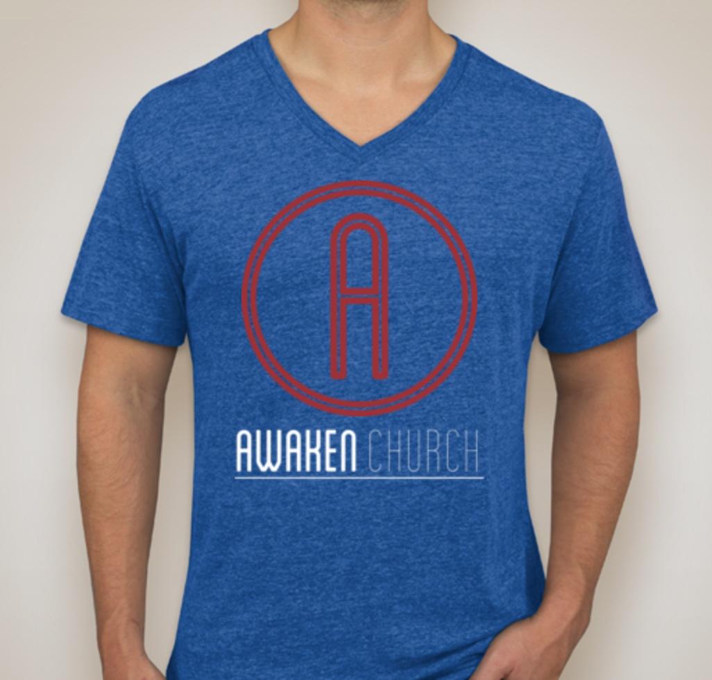 Awaken T-Shirt - Vintage Royal