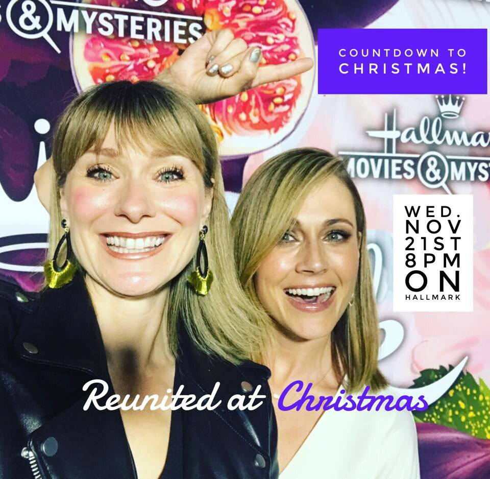 """Jen executive produced, """"Reunited at Christmas"""" for the Hallmark Channel with  Nikki Deloach  her  welcometowhatweare.com  co-creator and writing/producing partner.   Reunited at Christmas"""