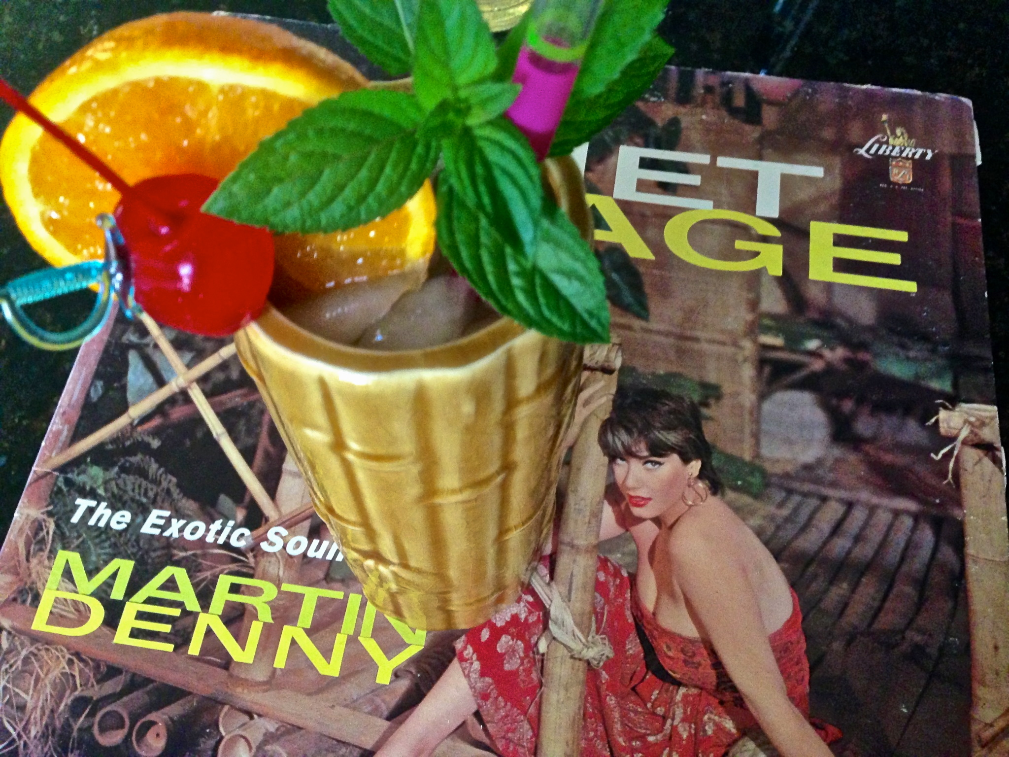 One of our favorite luau drinks. You can make this sucker really strong and the sweetness covers it up. Be careful.