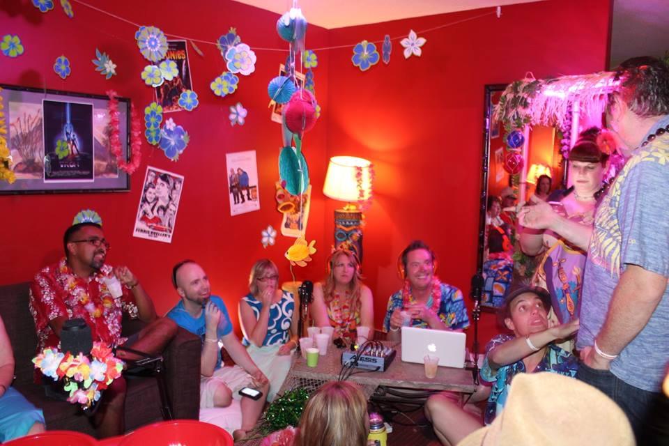 Our LIVE podcast recording at Tiki Caliente 7