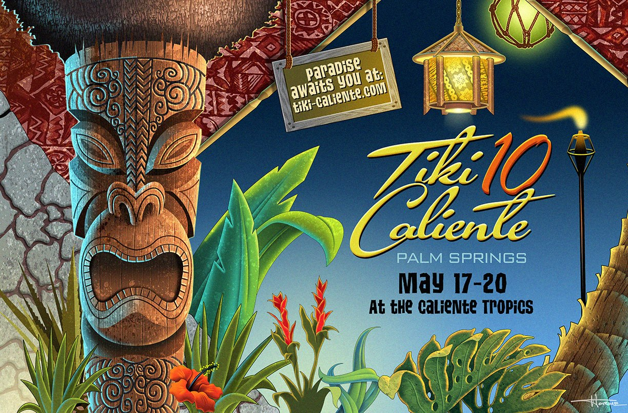 Join the crew of the Zen Tiki Lounge podcast at  Tiki Caliente!  The hottest tiki event now in its 10th year. ZTL is hosting multiple parties and we want to see you there. Buy your wristbands now, the event will sell out.