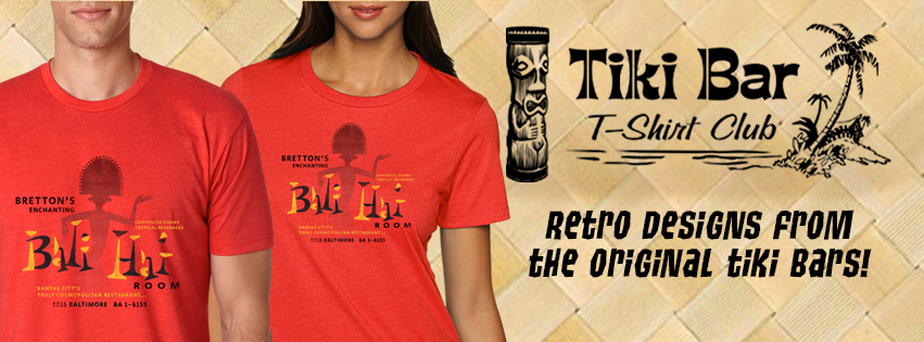All of us at Zen Tiki Lounge podcast wear our Tiki Bar T shirt Club shirts proudly and boldly. We could not have made it to 400 episodes without great friends and partners in the tiki community like Tiki Bar T shirt Club. Cheers and Mahalo!