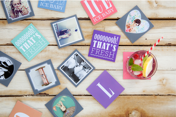 photograph about Printable Coasters identified as Homemade Coasters - Ideal for your Residence as a