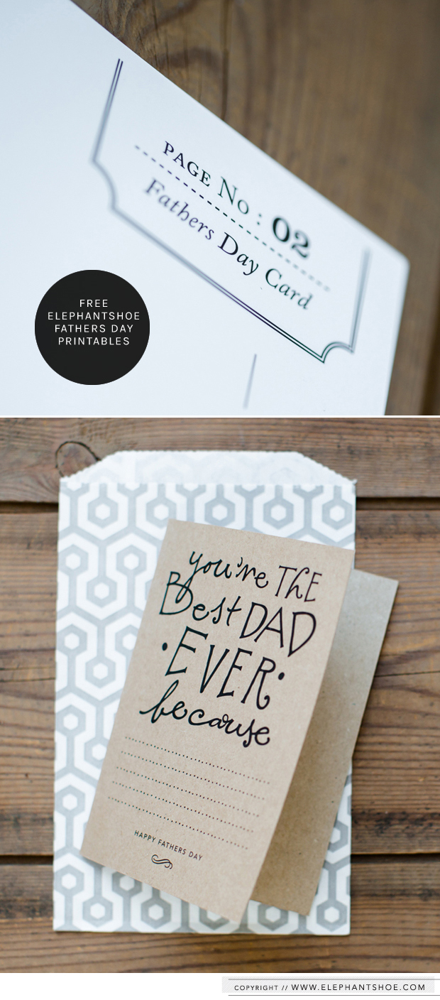 Fathers Day Free Printable 02
