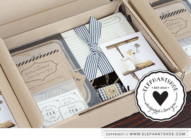 Elephantshoe I Love You Box