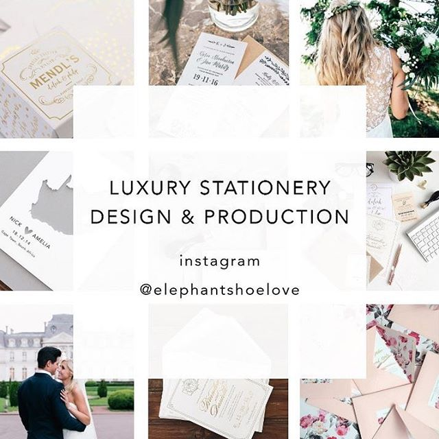 Elephantshoe friends!!! After an extended maternity leave, I am back at my design desk. Luxury wedding and event stationery bookings now open. From design through to print and production.