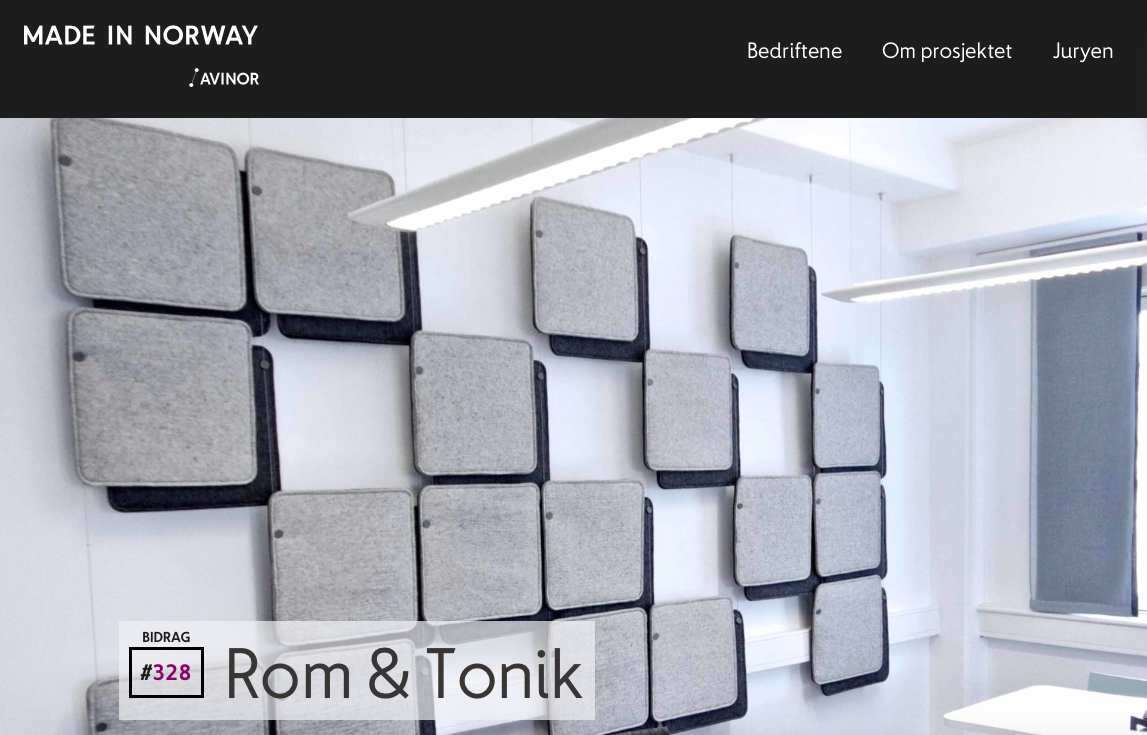 Rom & Tonik - made in Norway