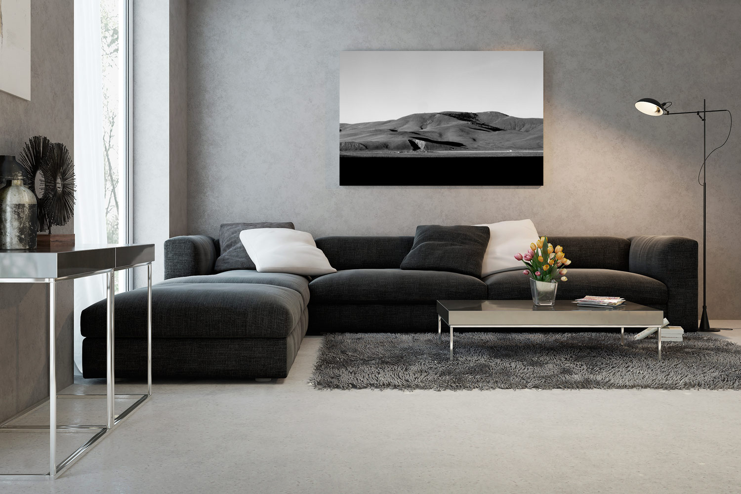 Picture Wall - lydabsorbent med fototduk