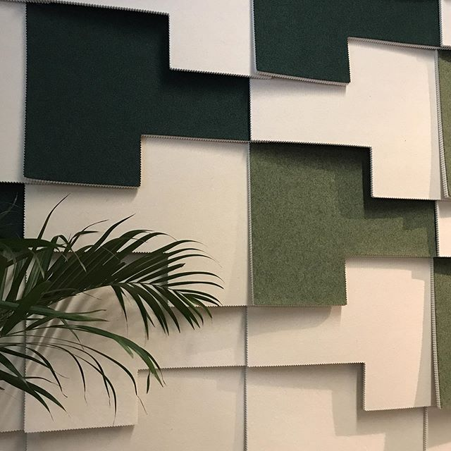 Felt Tile Patch is shown for the first time today, by @kvadrattextiles in Northerns showroom. Designed by the talented @vera.kyte .Stop by us in Bygdøy Allè 68 if you're in Oslo for #designerssaturday2019 . We would be so excited to see you!  @northern.no