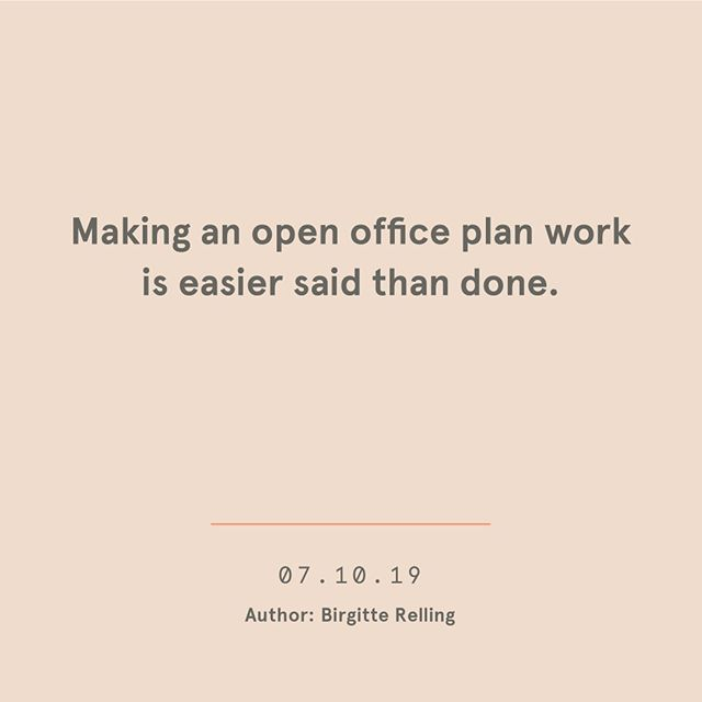 What she said. ⠀⠀⠀⠀⠀⠀⠀⠀⠀ No, seriously. Making an open office plan work can be really tricky. This weeks post is all about the good and the bad of open offices and what you can do to get the most out of it. ⠀⠀⠀⠀⠀⠀⠀⠀⠀ link in bio. ⠀⠀⠀⠀⠀⠀⠀⠀⠀ ⠀⠀⠀⠀⠀⠀⠀⠀⠀ ⠀⠀⠀⠀⠀⠀⠀⠀⠀ #interiorgoals #design #acoustics #work #norwegiandesign #interiorstyle #scandanaviandesign #ålesund #norskdesign #norskinteriør #looksgood #soundsgood #feelsgood #artandtechnology #soundproofing #lyddemping #noise #interiorstyle #officedesign #workspace #sustainabledesign #felt #sustainaiblebusines #architecture  #wool #upcycling #office #bedreliv #openplan