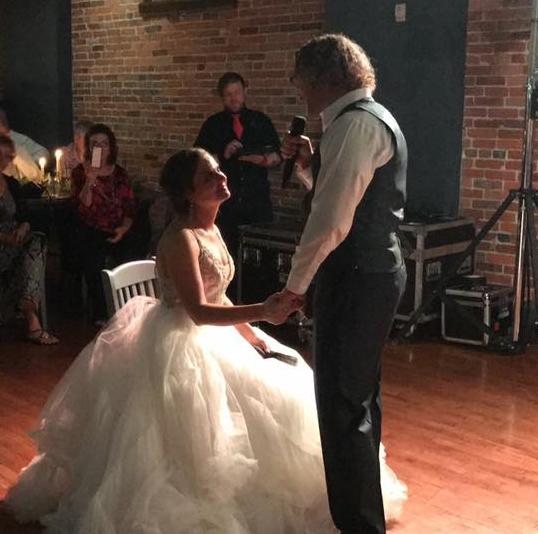 Amazing night! Favorite memory is my husband singing to me 💕💕💕 - Jenna