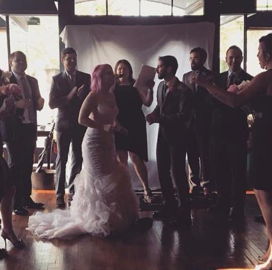 Our wedding in 2016! - Dana